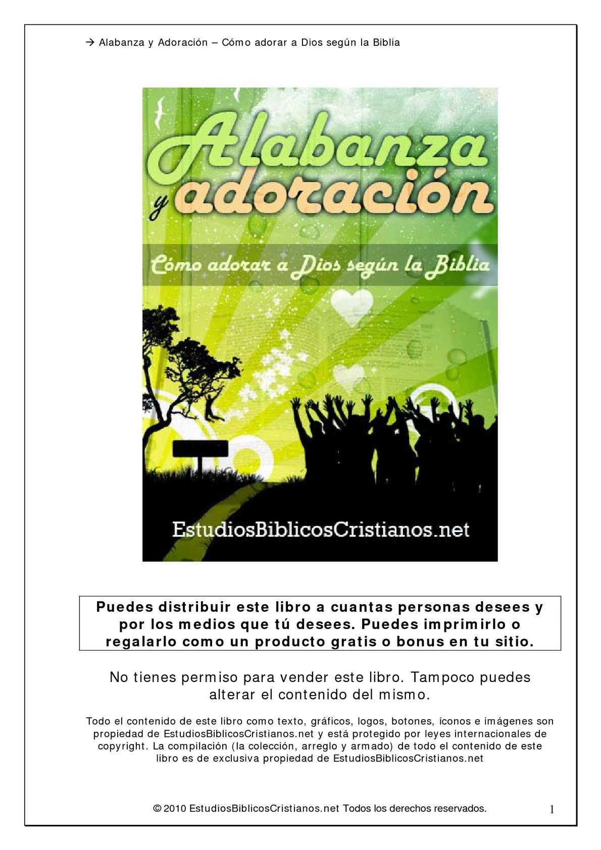 Calaméo - Alabanza y Adoración - Cómo adorar a Dios