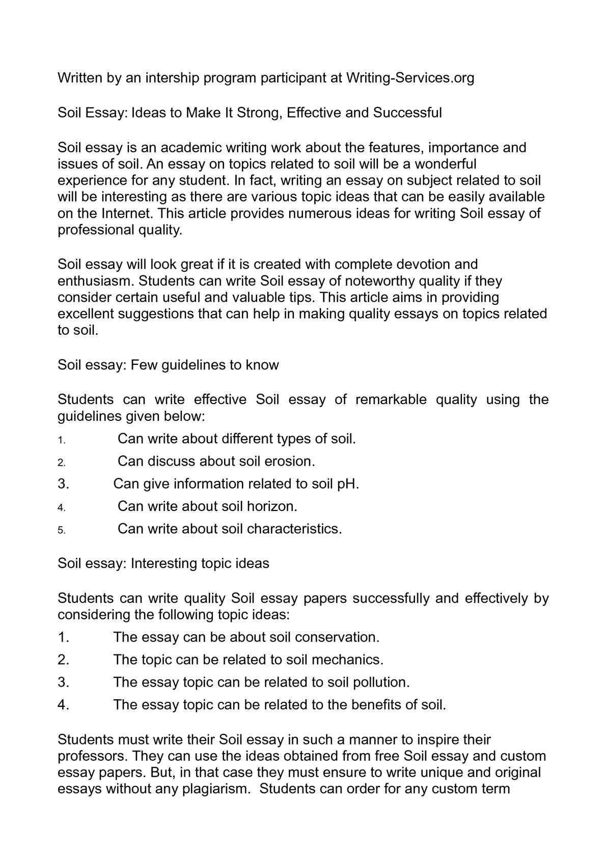 Essays With Thesis Statements  Essay About Healthy Food also Best English Essays Calamo  Soil Essay Ideas To Make It Strong Effective And Successful Example Essay English