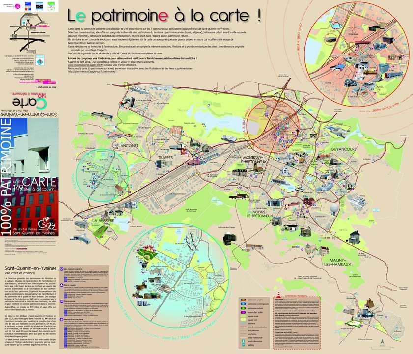 Calam o carte du patrimoine de saint quentin en yvelines for Villes des yvelines