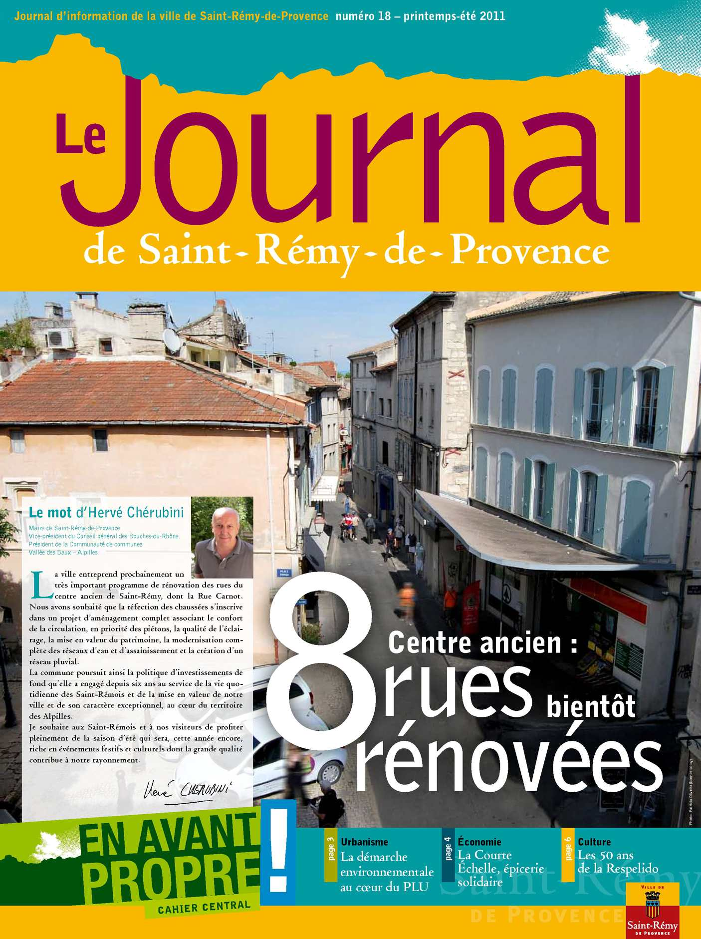 Calam o journal de saint r my de provence t 2011 - Le journal de provence ...