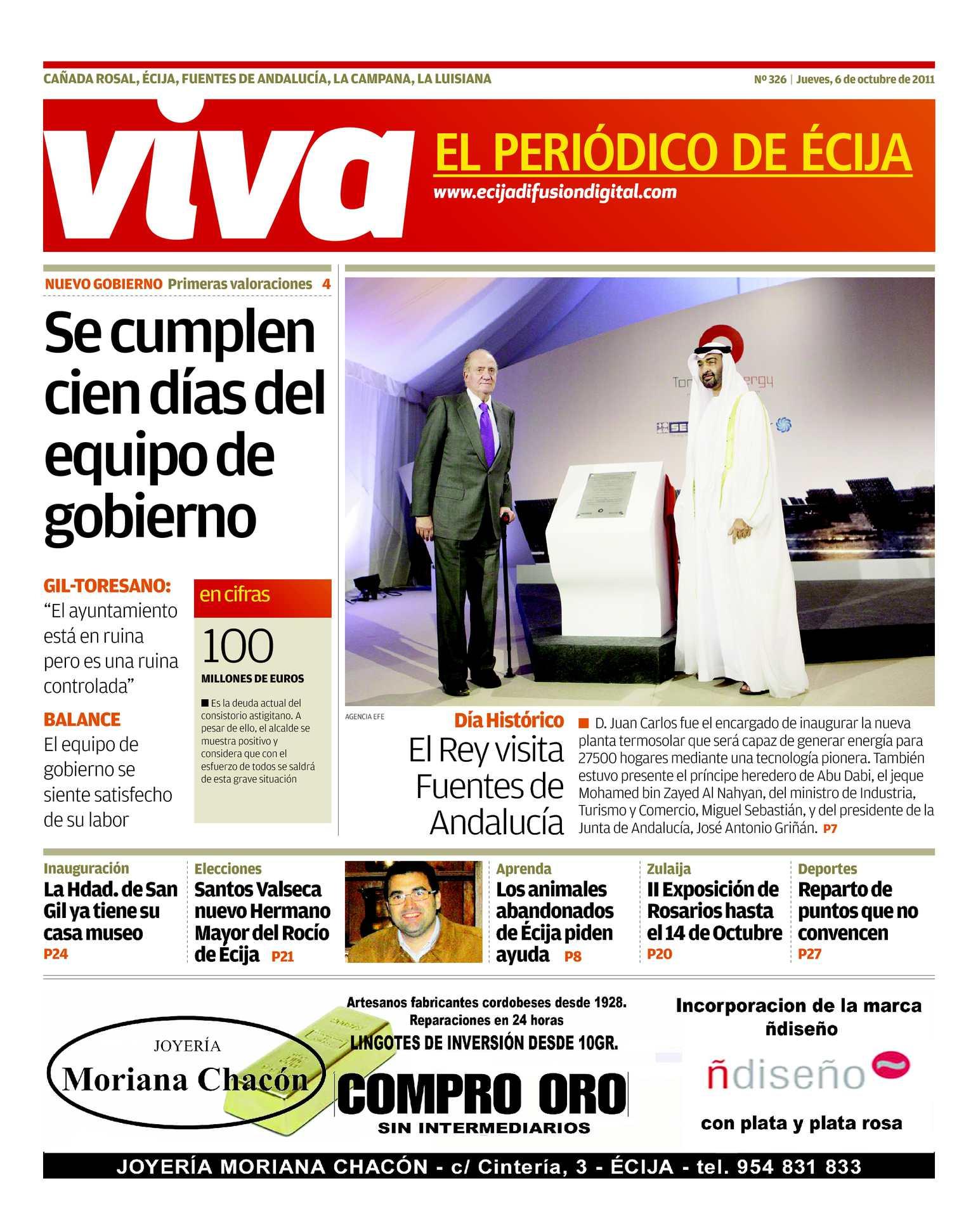 Calaméo - VIVA El Periódico de Écija Octubre 2011