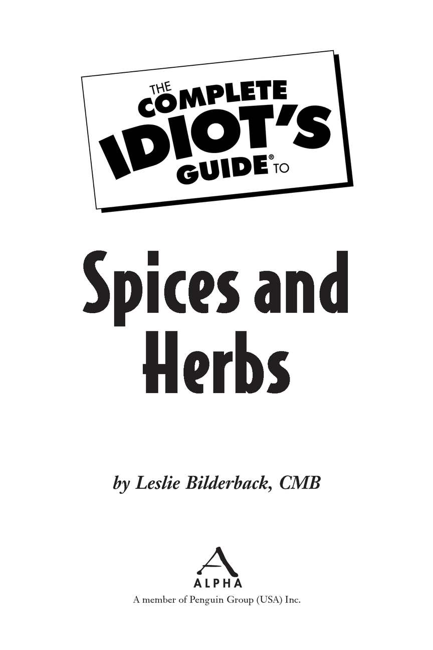 Calamo The Complete Idiots Guide To Spices And Herbs Cool Cold Ice2 Cooling Pad 156 Inch