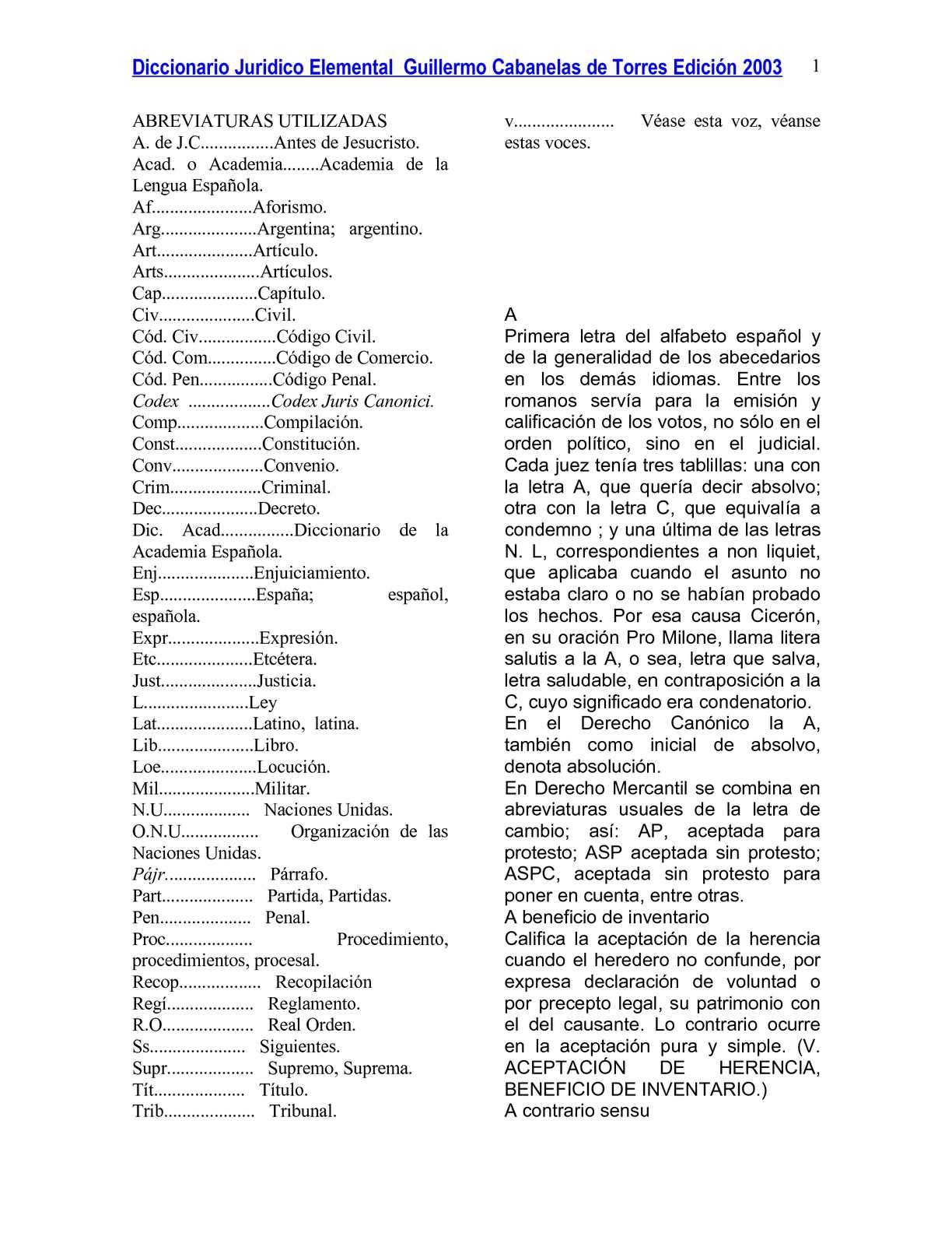 Calaméo - diccionario elemental