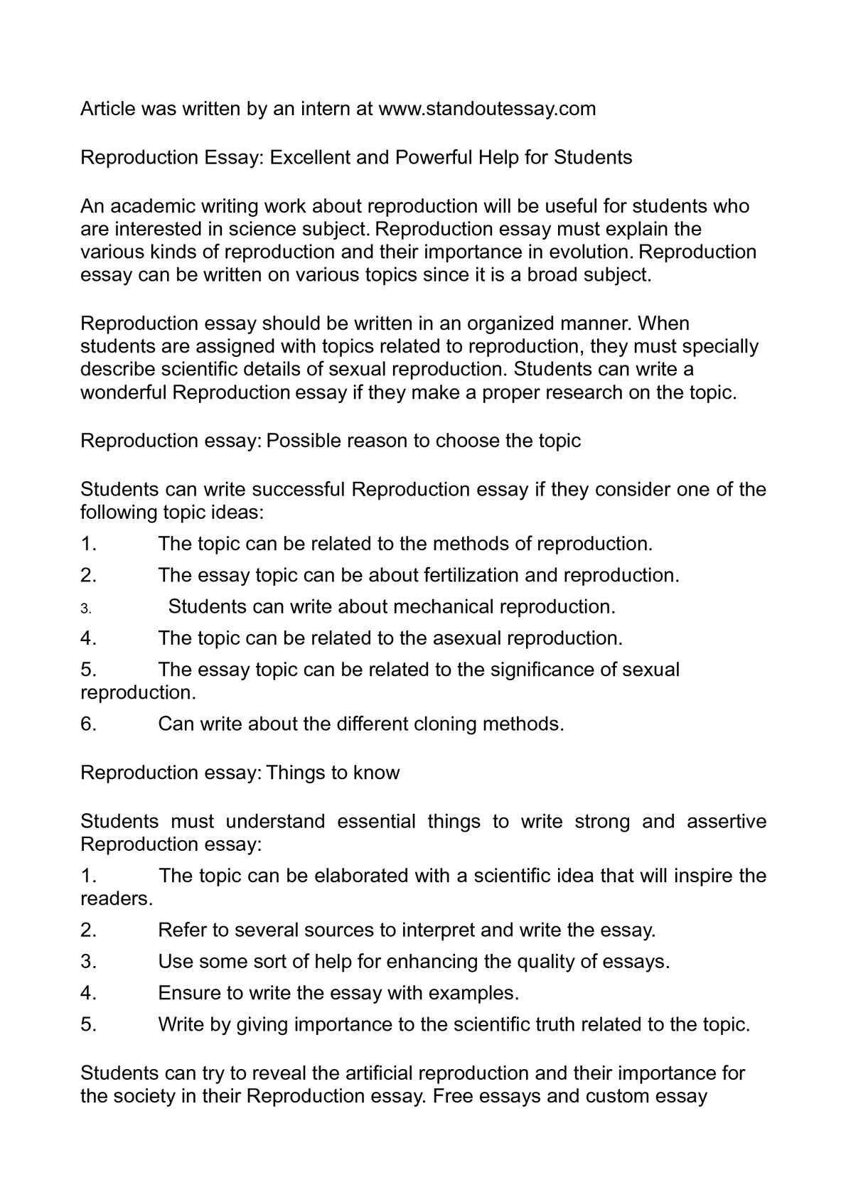 Essay On Library In English  From Thesis To Essay Writing also Is Psychology A Science Essay Calamo  Reproduction Essay Excellent And Powerful Help For Students Diwali Essay In English