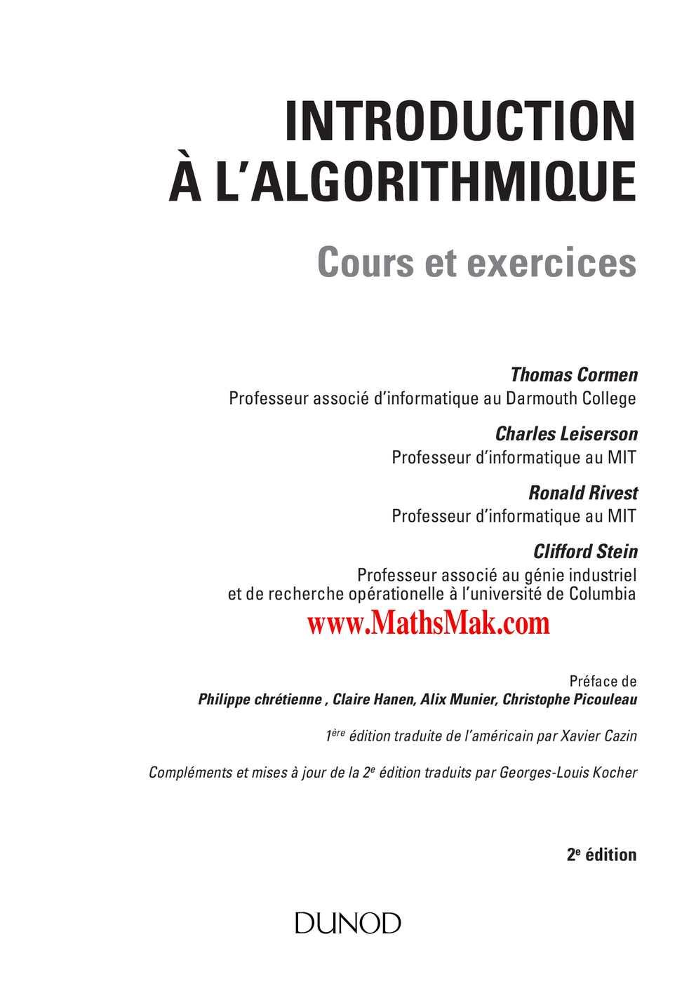 Introduction-à-l'algorithmique-Cours-et-exercices-corrigés
