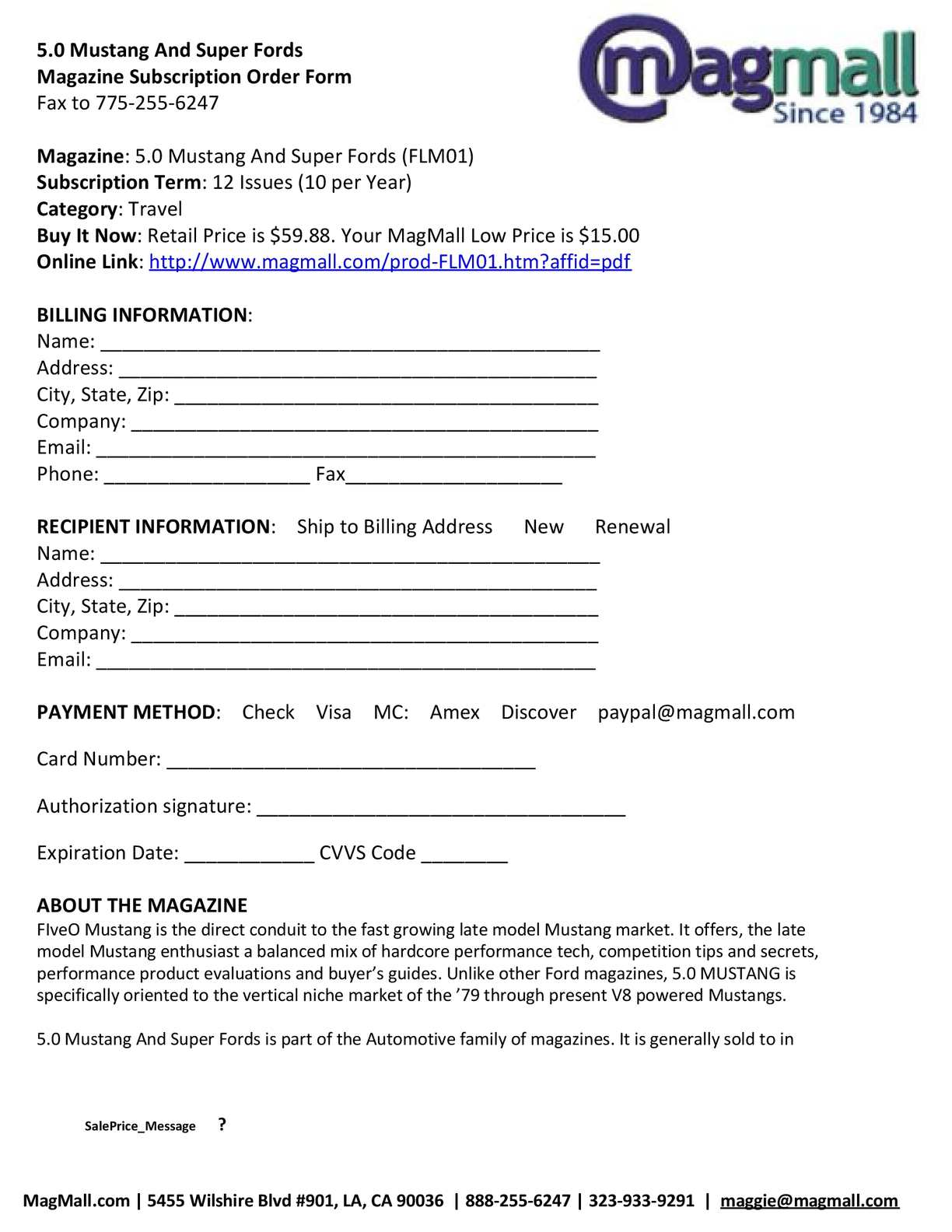 Retail Buyers Order Form on auto sales purchase order forms, blank order forms, media order forms, printable vehicle purchase order forms,