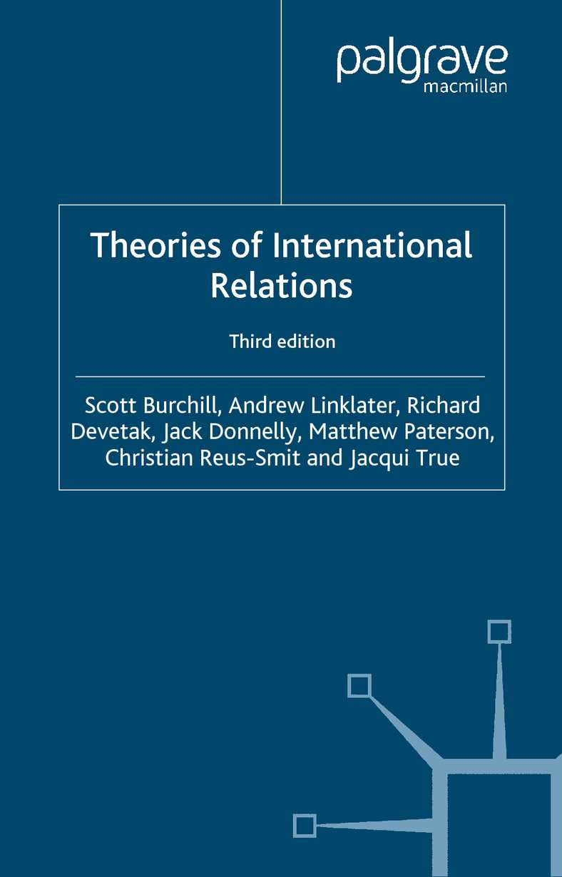 Calaméo - theories of international relations