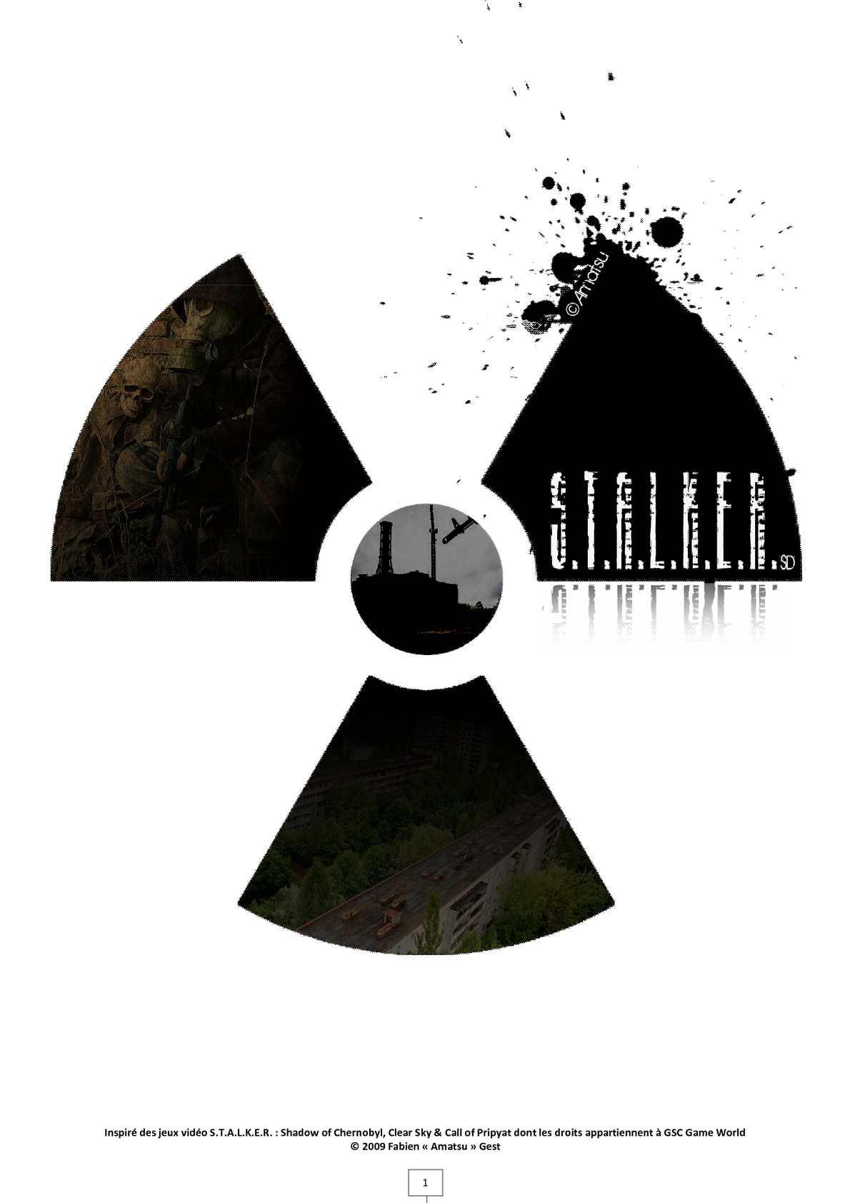 S.T.A.L.K.E.R. JDR papier