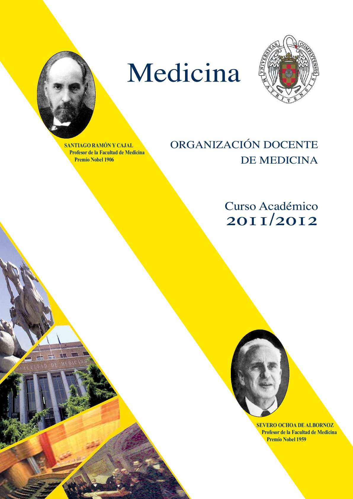 Calaméo - Organización Docente de Medicina Complutense 2011-12