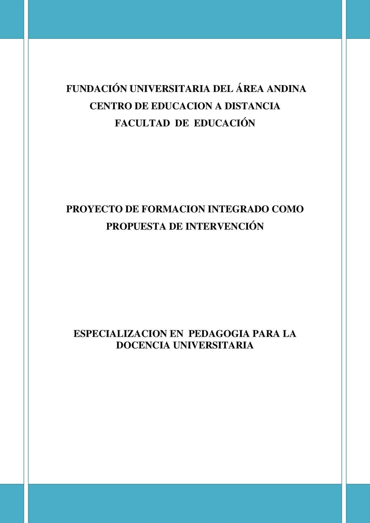 Calaméo - PROYECTO DE FORMACIÓN INTEGRADO COMO PROPUESTA DE ...