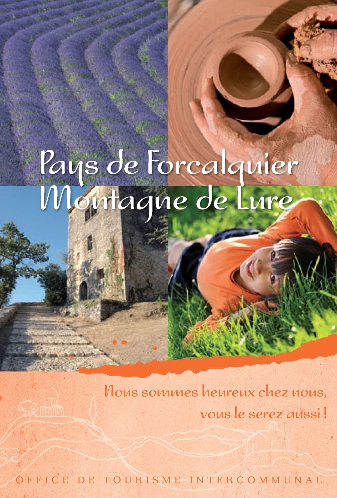 Calam o guide touristique pays de forcalquier montagne de lure 2011 - Office du tourisme forcalquier ...