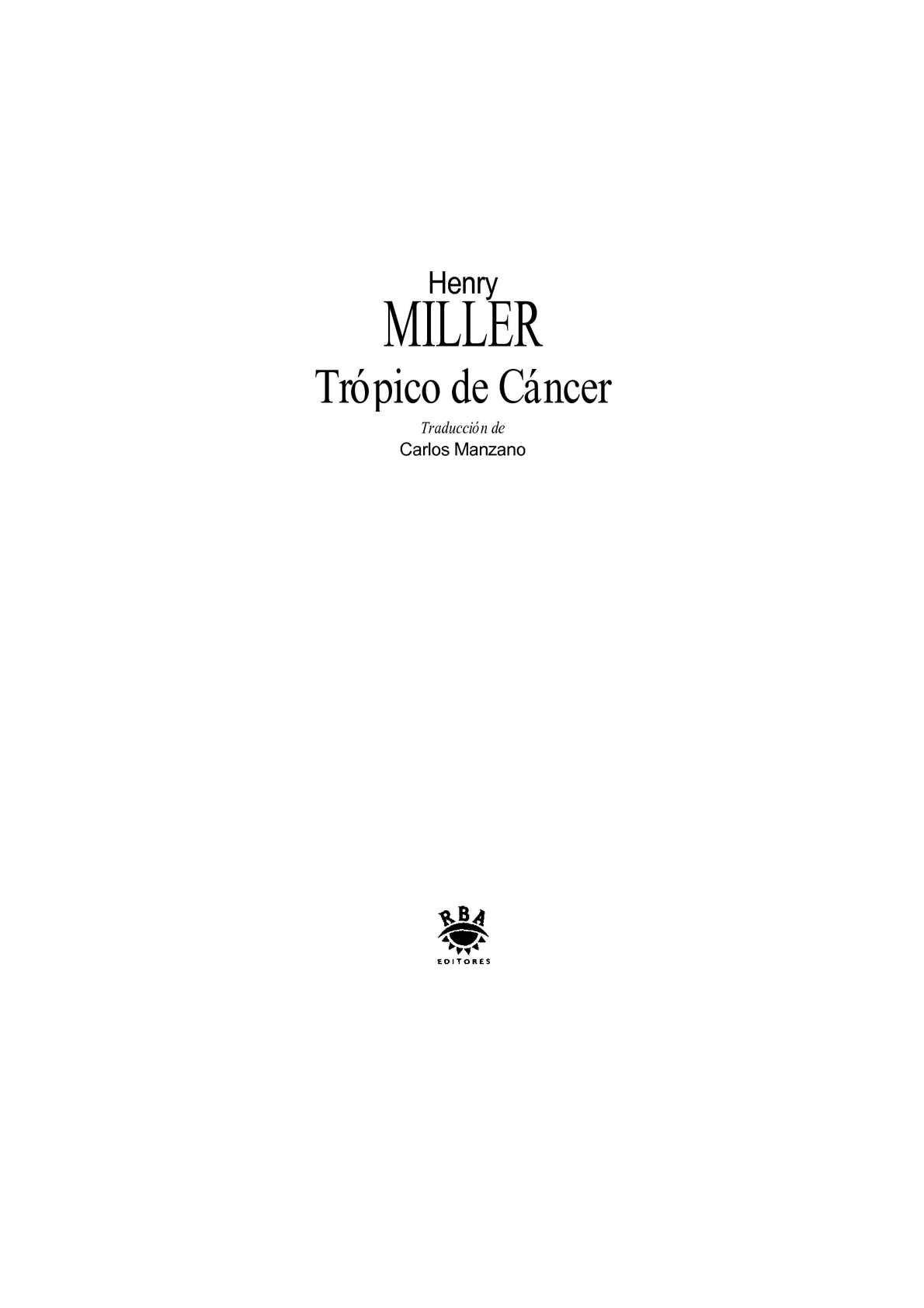 Calaméo - Trópico de Câncer