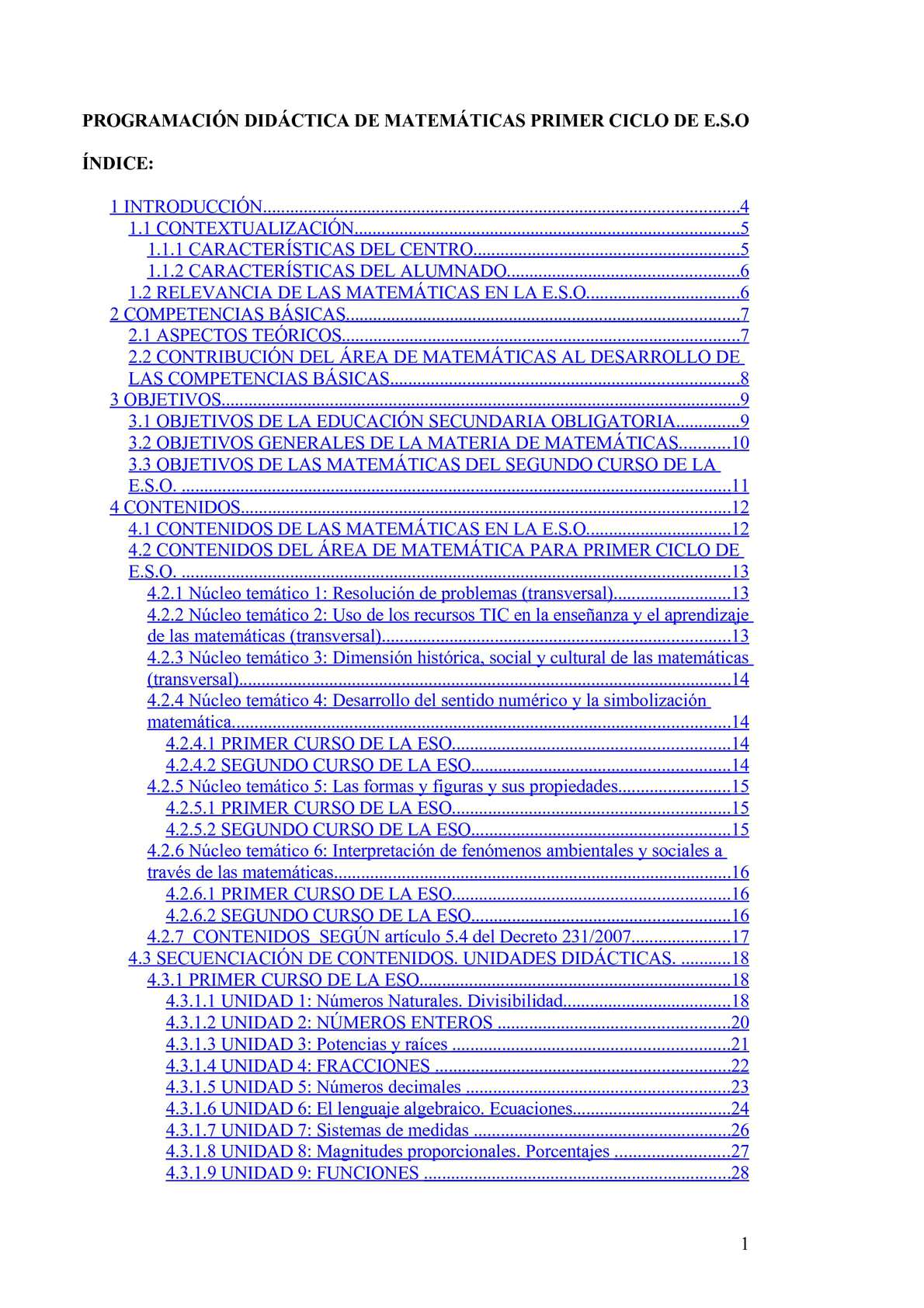 Calaméo - Programación 1º y 2º E.S.O.