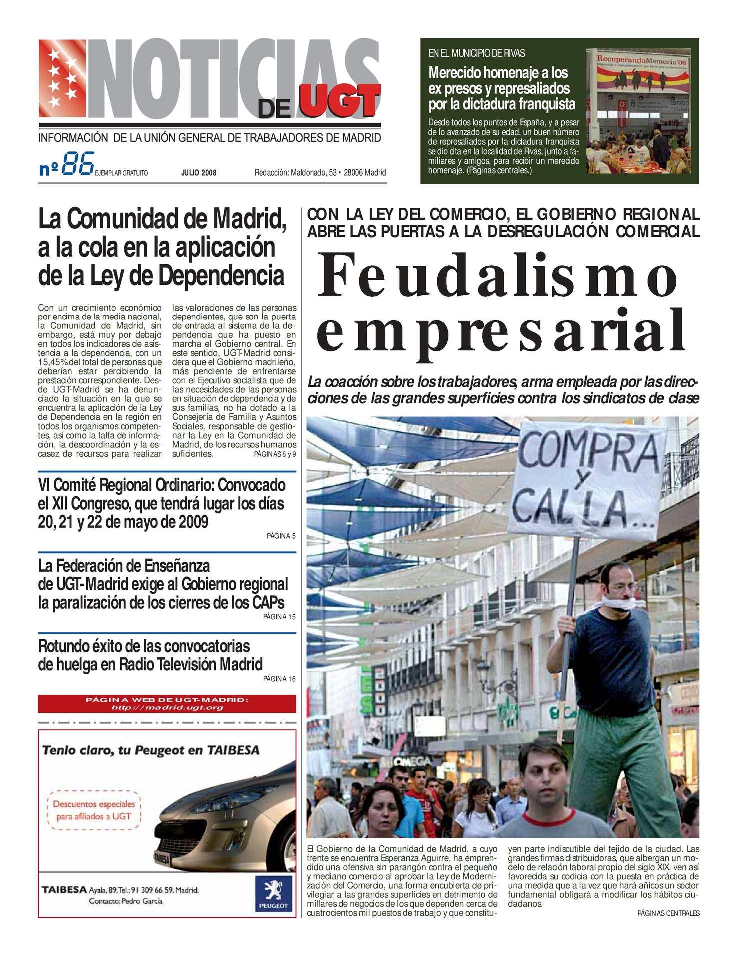 Calaméo - Noticias UGT 86