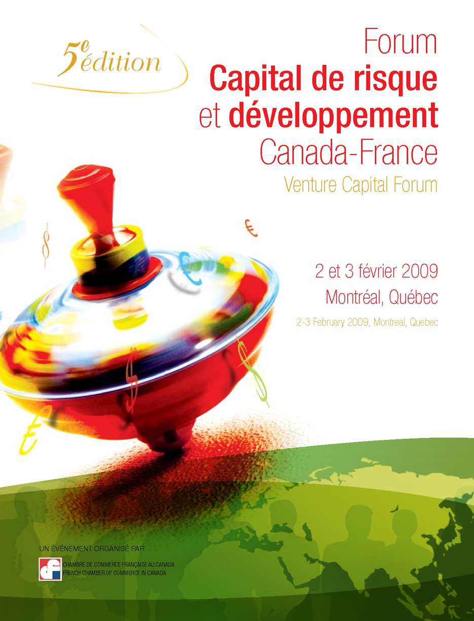 Calam o catalogue forum capital de risque 2009 for Chambre de commerce au canada