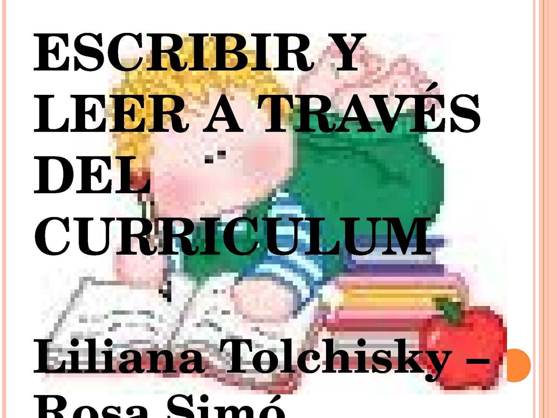 Calaméo - Escribir a leer a traves del curriculum