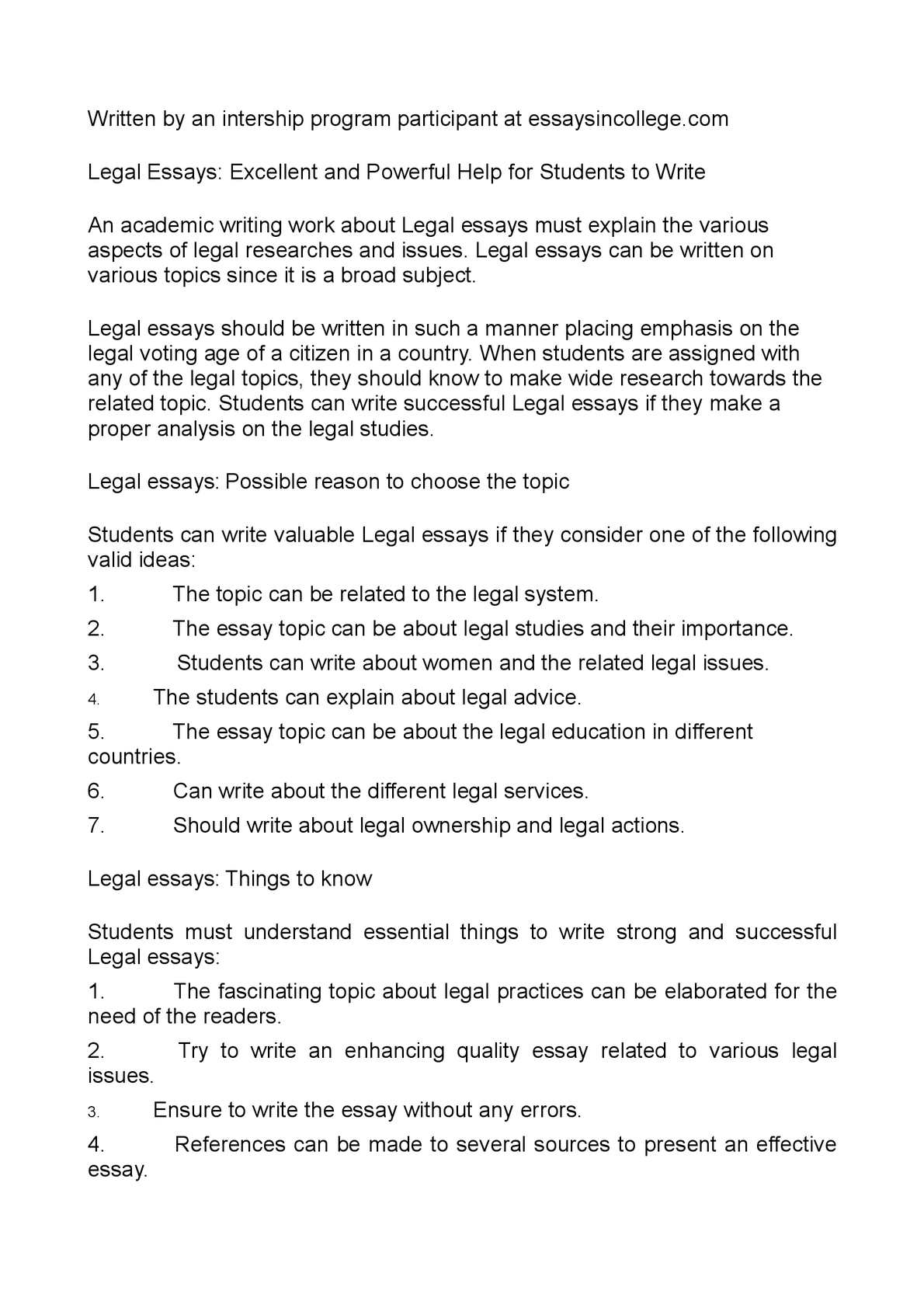 Expository Essay Rules Calamo  Legal Essays Excellent And Powerful Help For Students To Write Controversy Essay also Writing An Essay Structure Calamo  Legal Essays Excellent And Powerful Help For Students To  Example Of Essay Speech