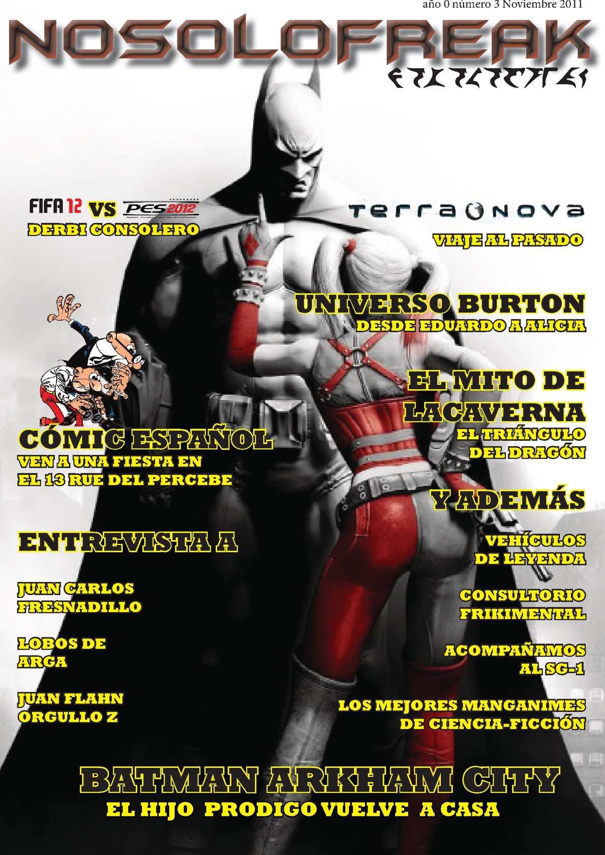 Calaméo - REVISTA NOSOLOFREAK NOVIEMBRE 2011