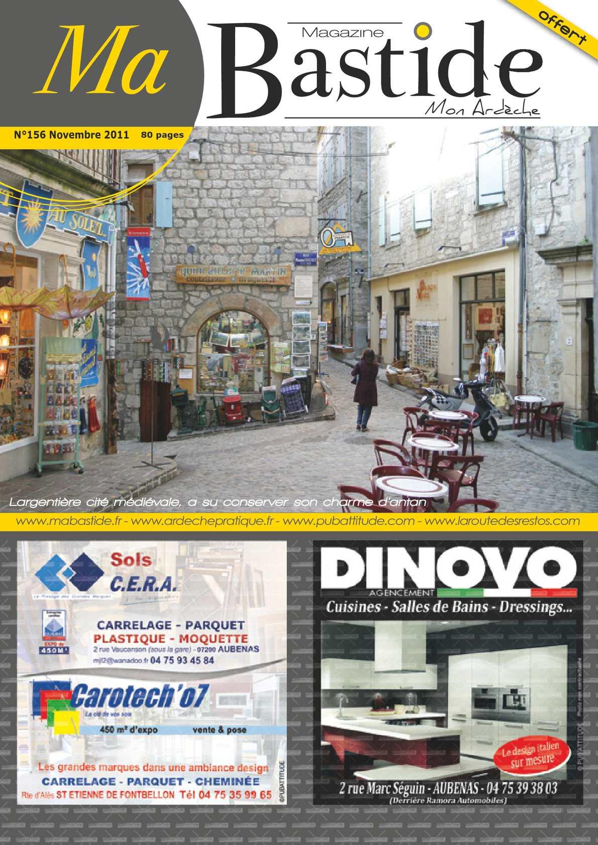 Calaméo Magazine Ma Bastide Novembre - Carrelage cuisine et tapis de sol opel meriva 2011