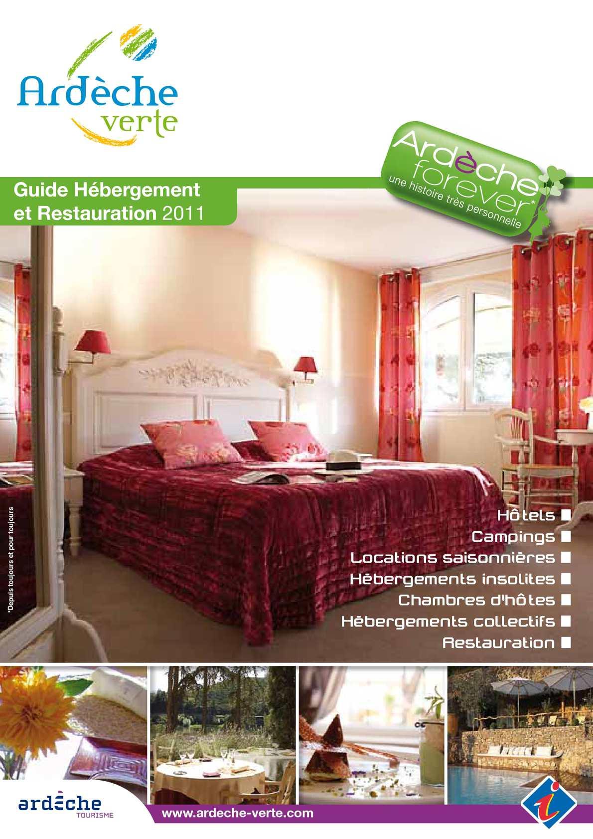calam o guide h bergement ard che verte. Black Bedroom Furniture Sets. Home Design Ideas