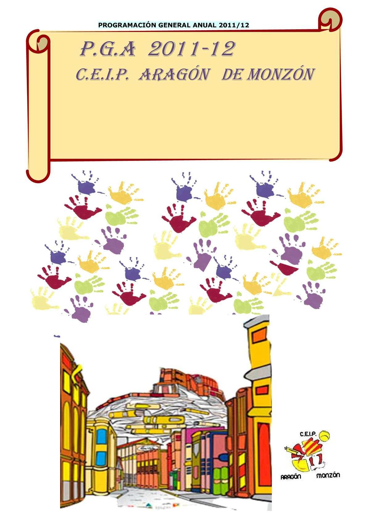 Calaméo - P.G.A. 2011-12 CEIP ARAGON