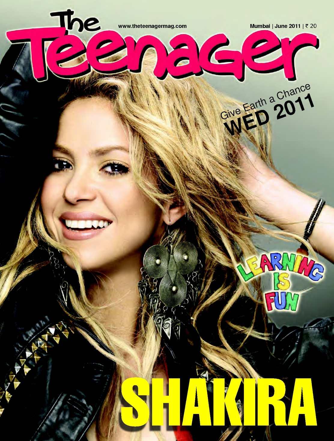 calam233o the teenager today i june 2011 i shakira
