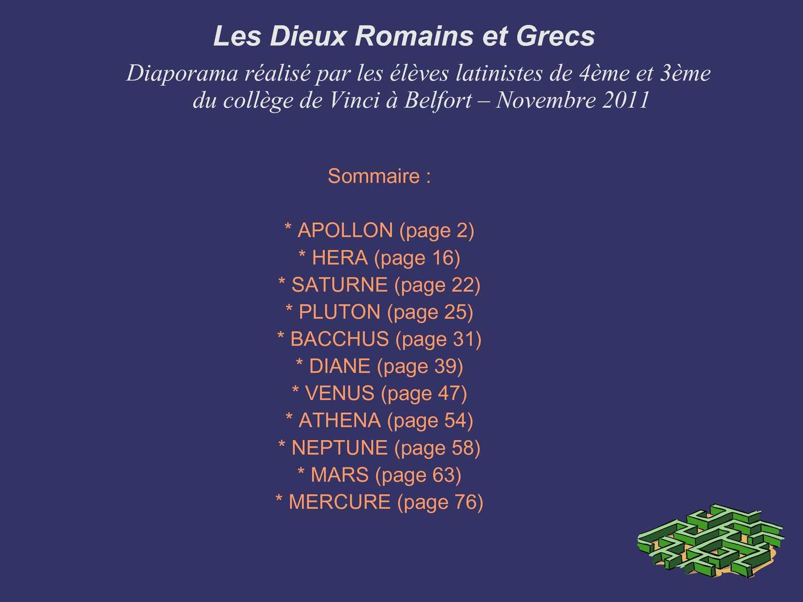 Bien-aimé Calaméo - Les Dieux Grecs et Romains BT77