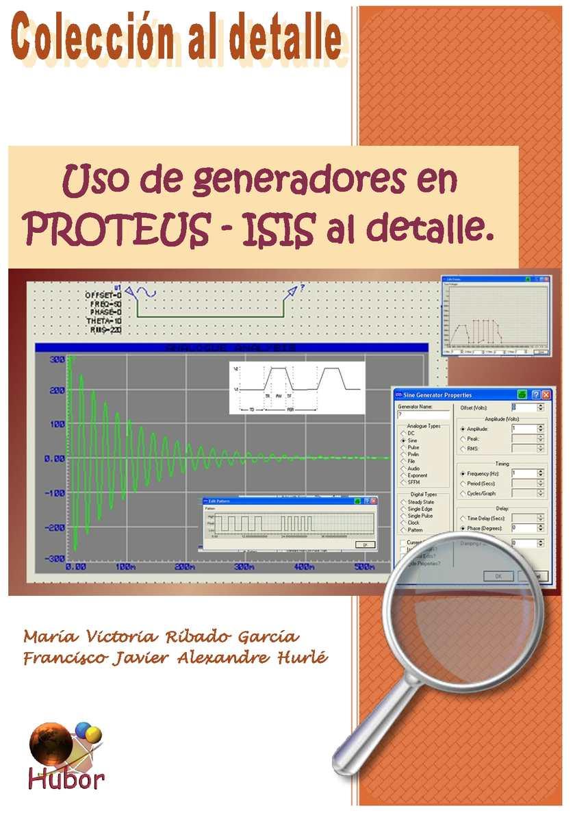 Uso de los generadores en Proteus-Isis al detalle