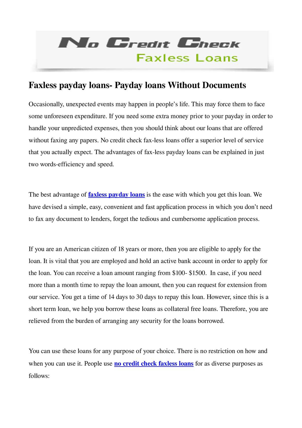 calameo faxless payday loans payday loans without documents With loan without documents