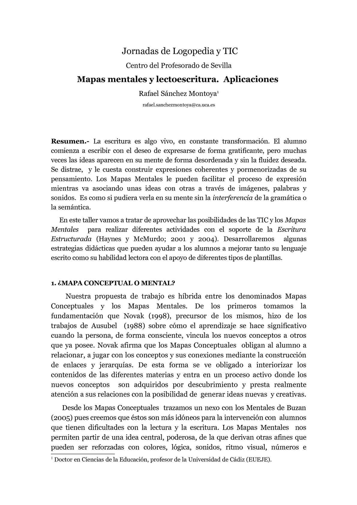 Calaméo - Mapas mentales para educación especial