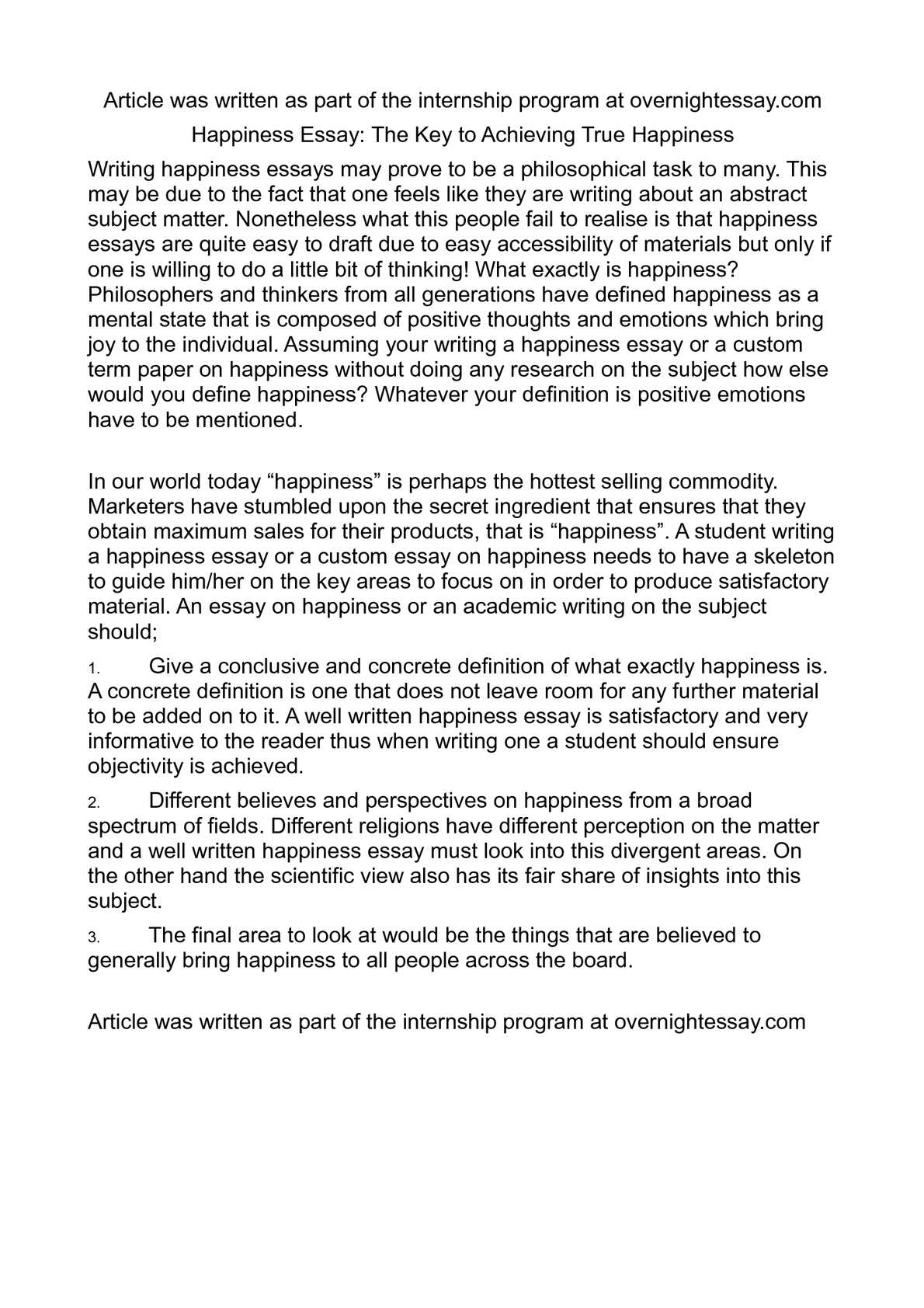 For personal university a statement writing
