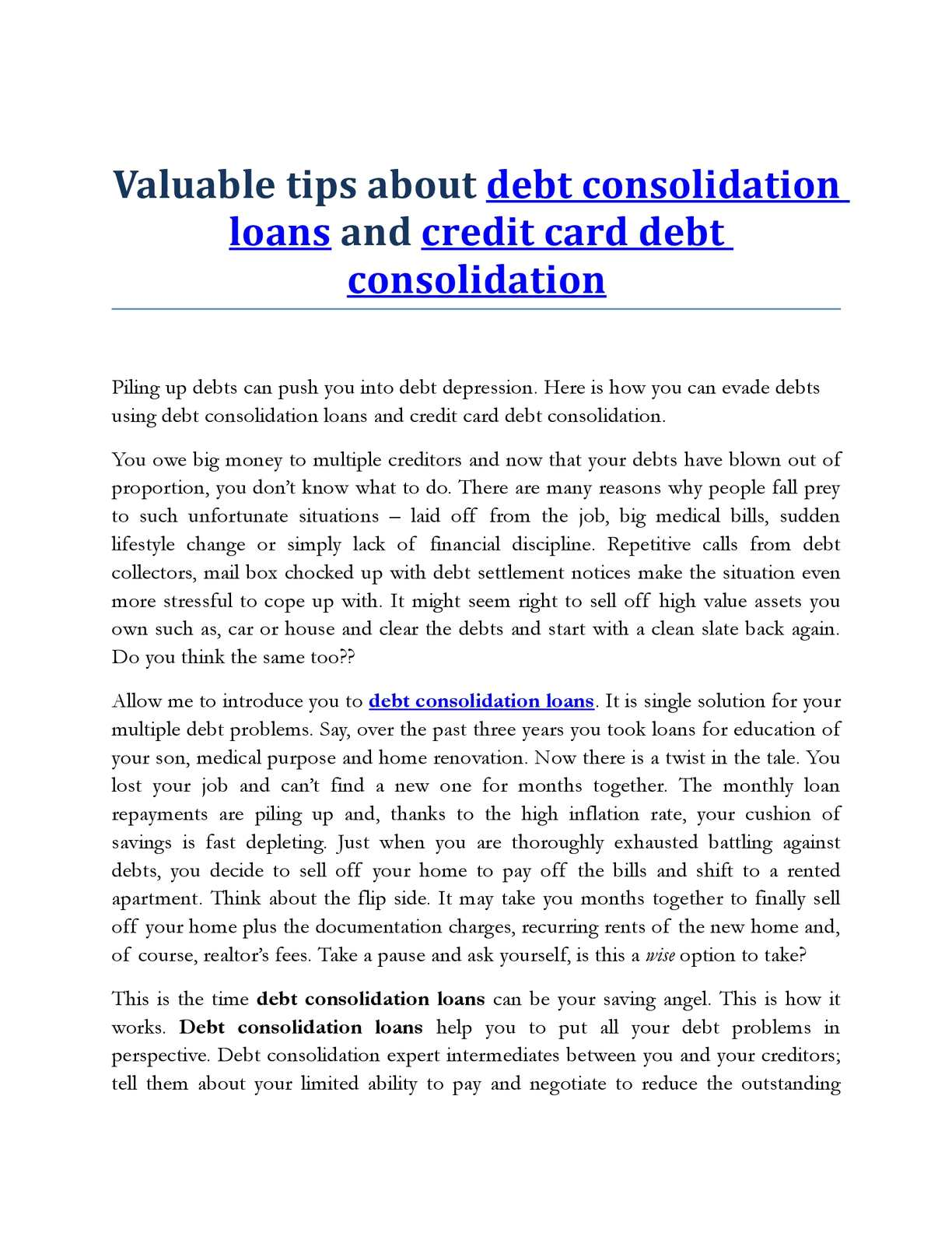 calam o valuable tips about debt consolidation and credit card debt consolidation australia. Black Bedroom Furniture Sets. Home Design Ideas