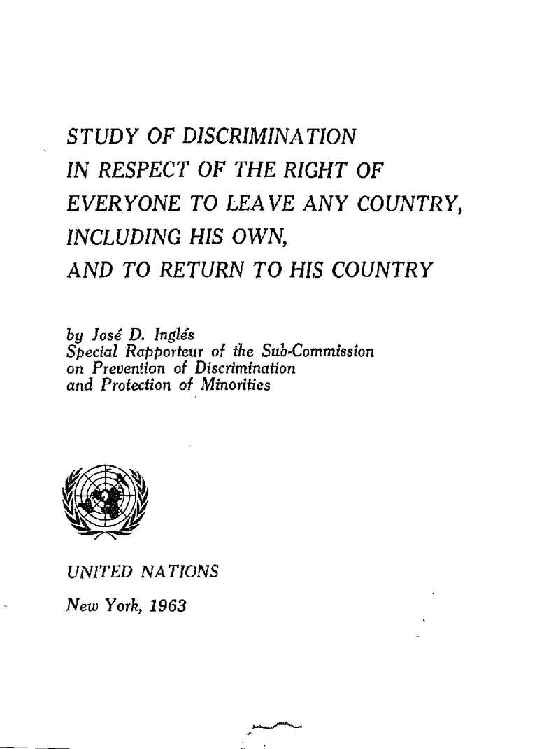 Calaméo - J.D.Ingles, Study of Discrimination in Respect of the ...