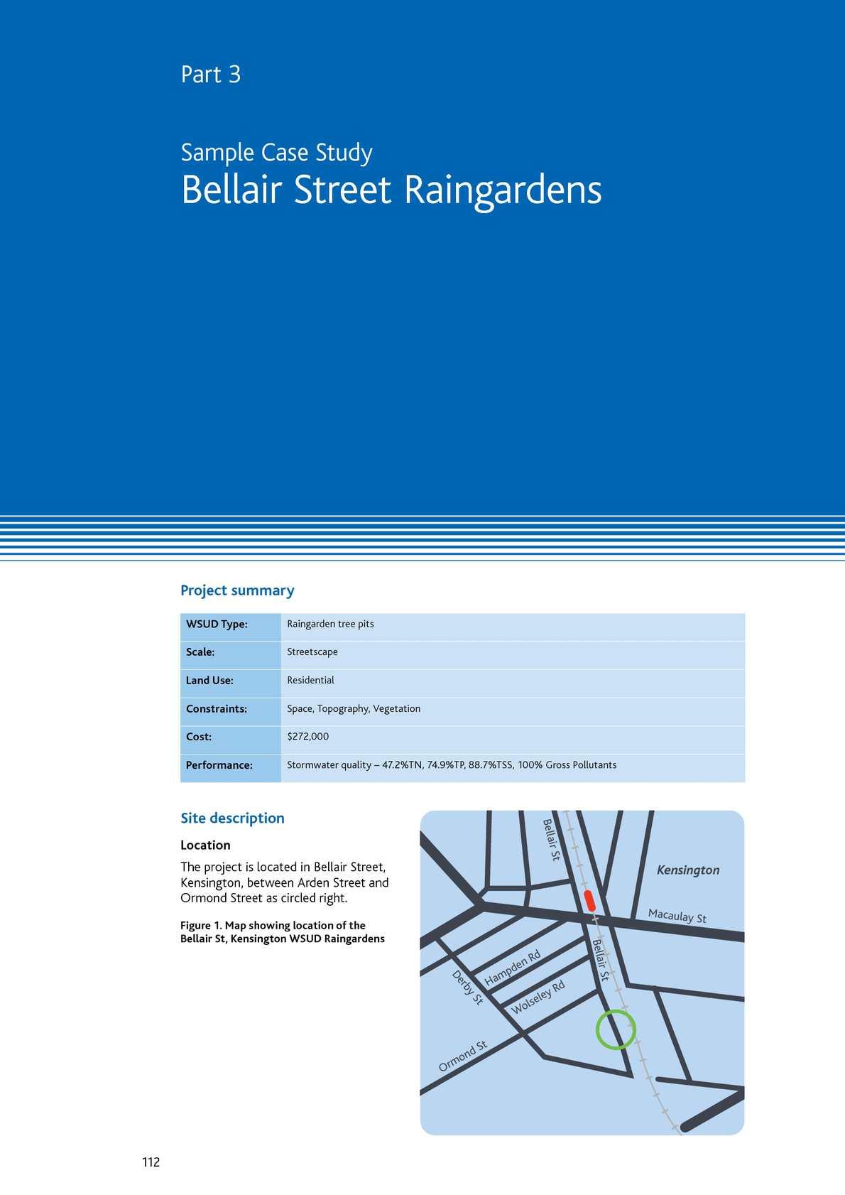 Calaméo - Bellair Street Rain Gardens - Melbourne, Australia