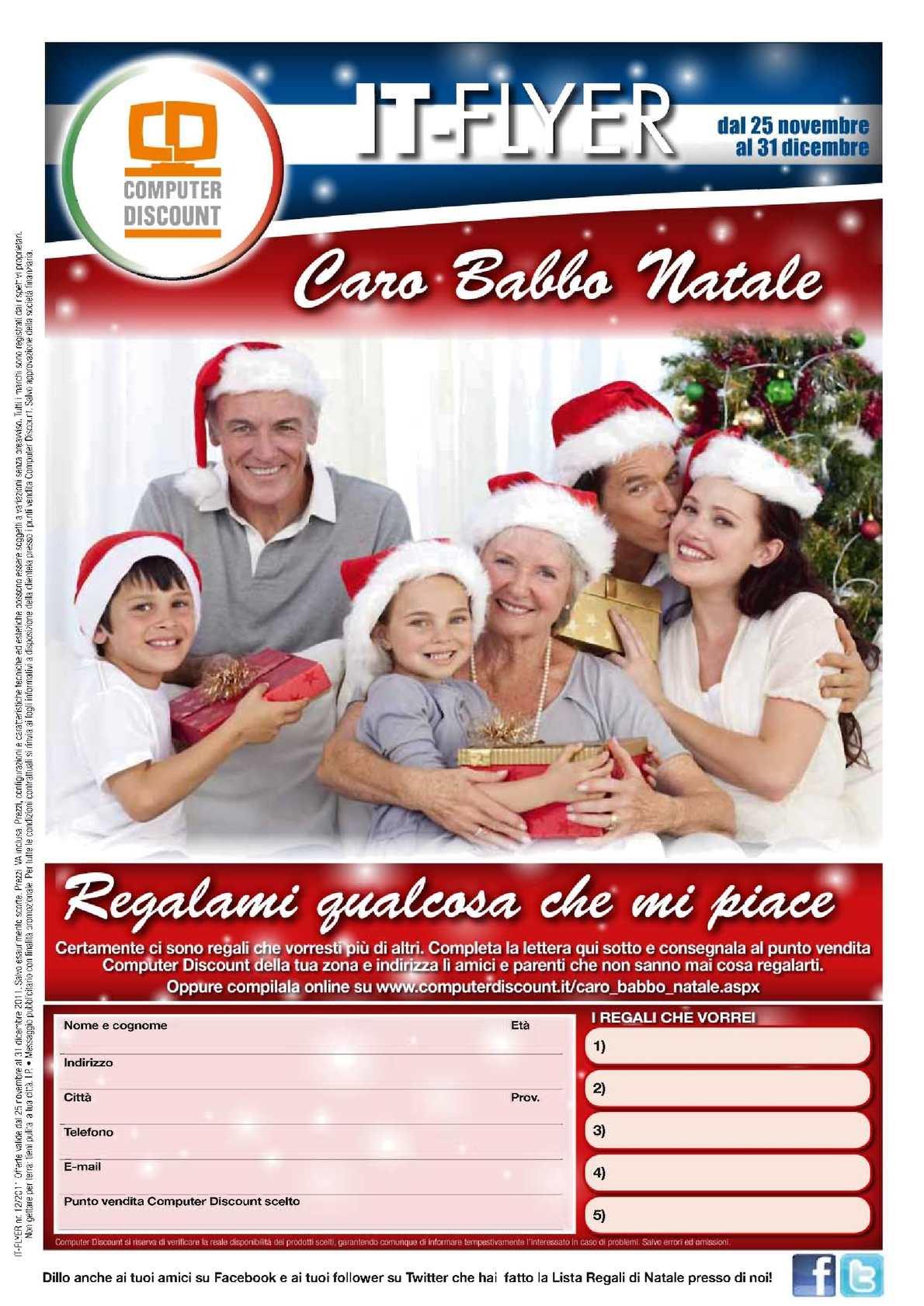 Calaméo - Volantino Computer Discount dal 25/11 al 31/12/2011