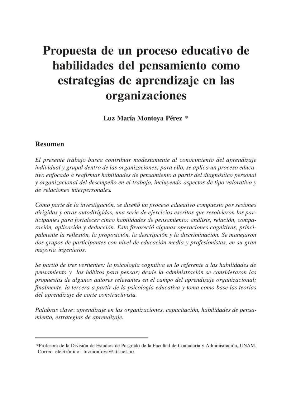 Calaméo - HABILIDADES DEL PENSAMIENTO