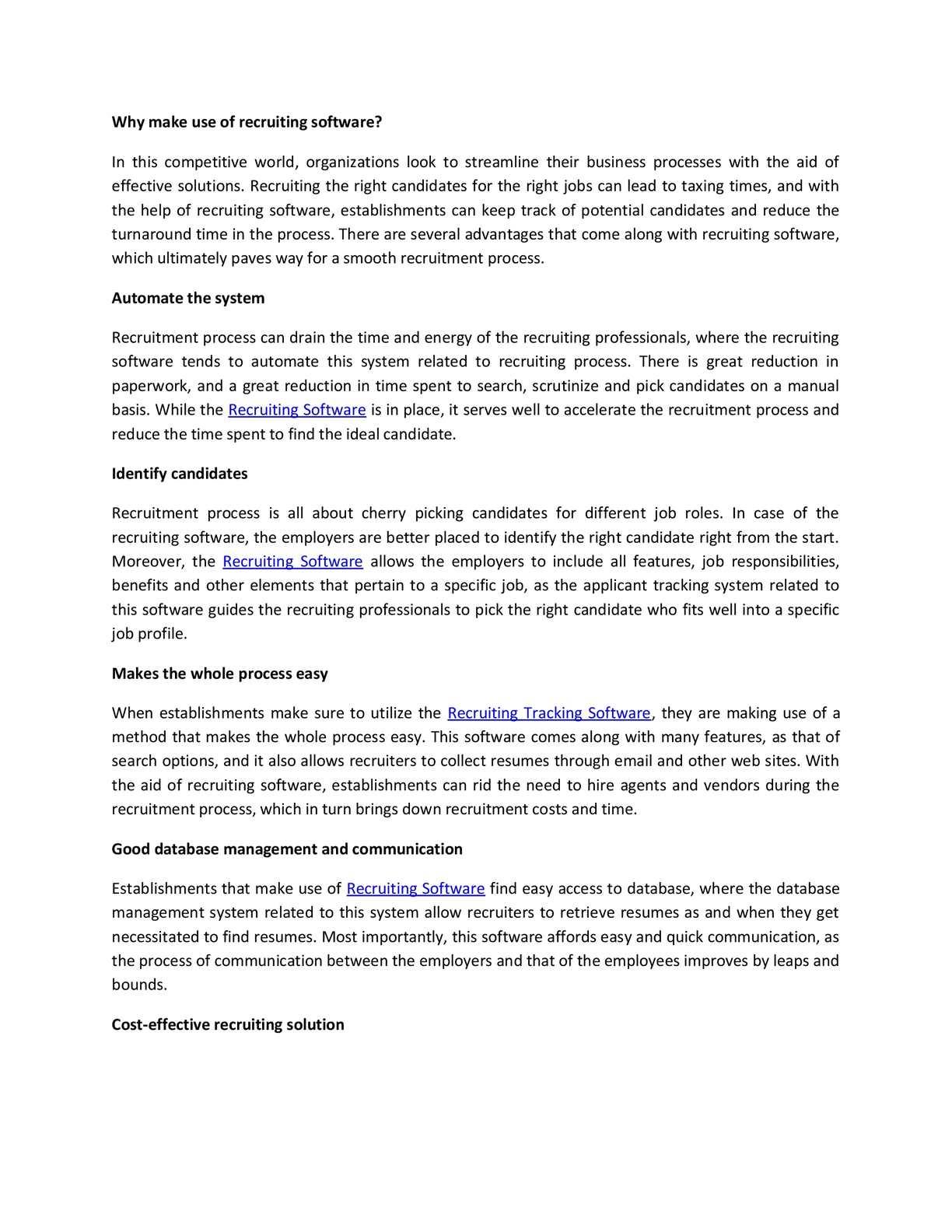 Calaméo - Recruiting software