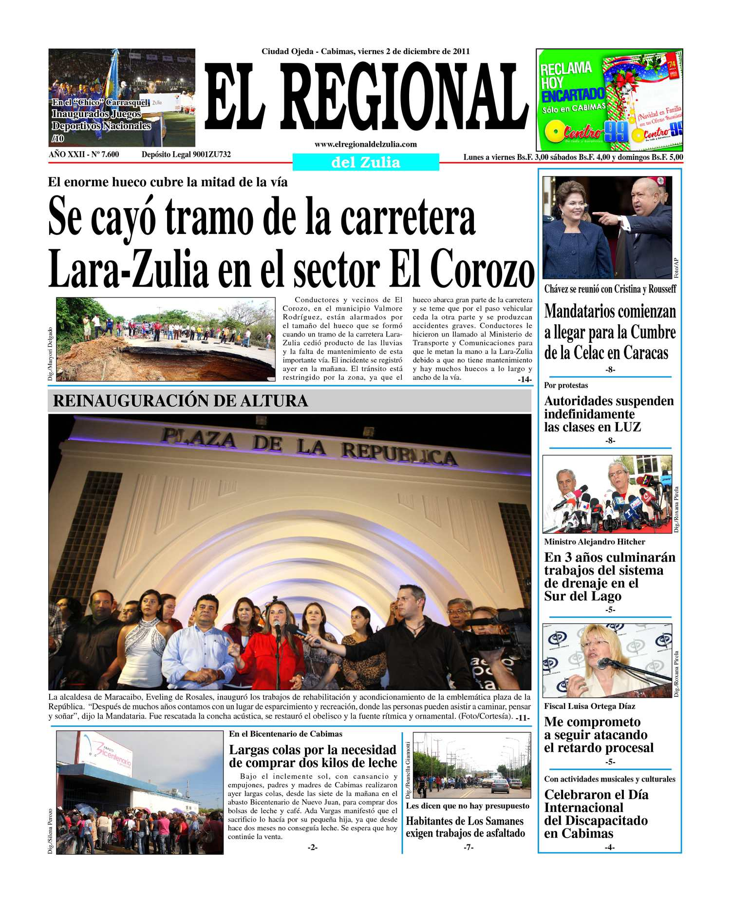 Calaméo - El Regional del Zulia 02-12-2011