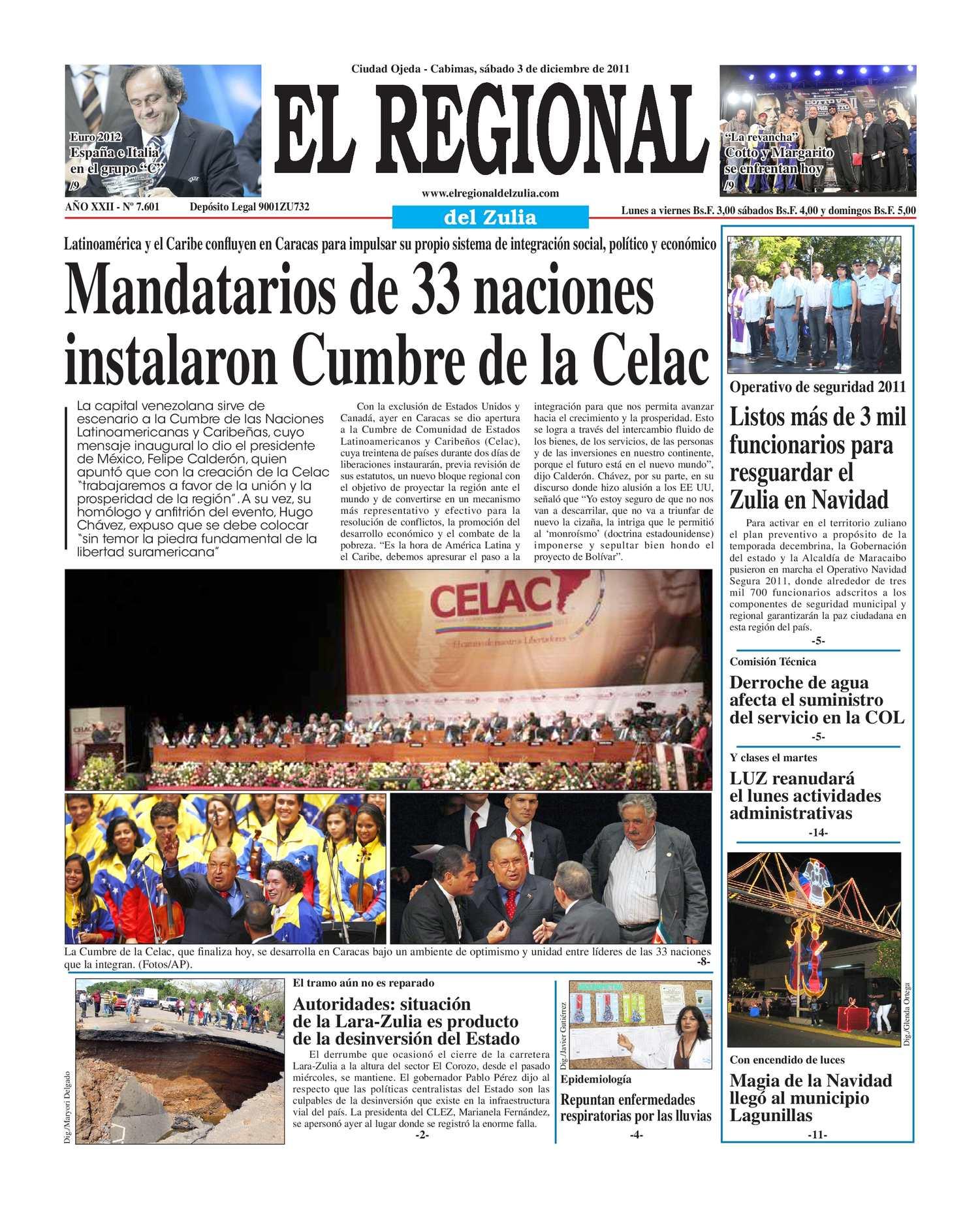 Calaméo - El Regional del Zulia 03-12-2011
