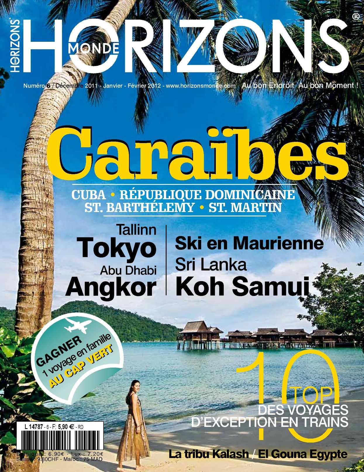 HORIZONS MONDE N°6 Hiver 2011/2012