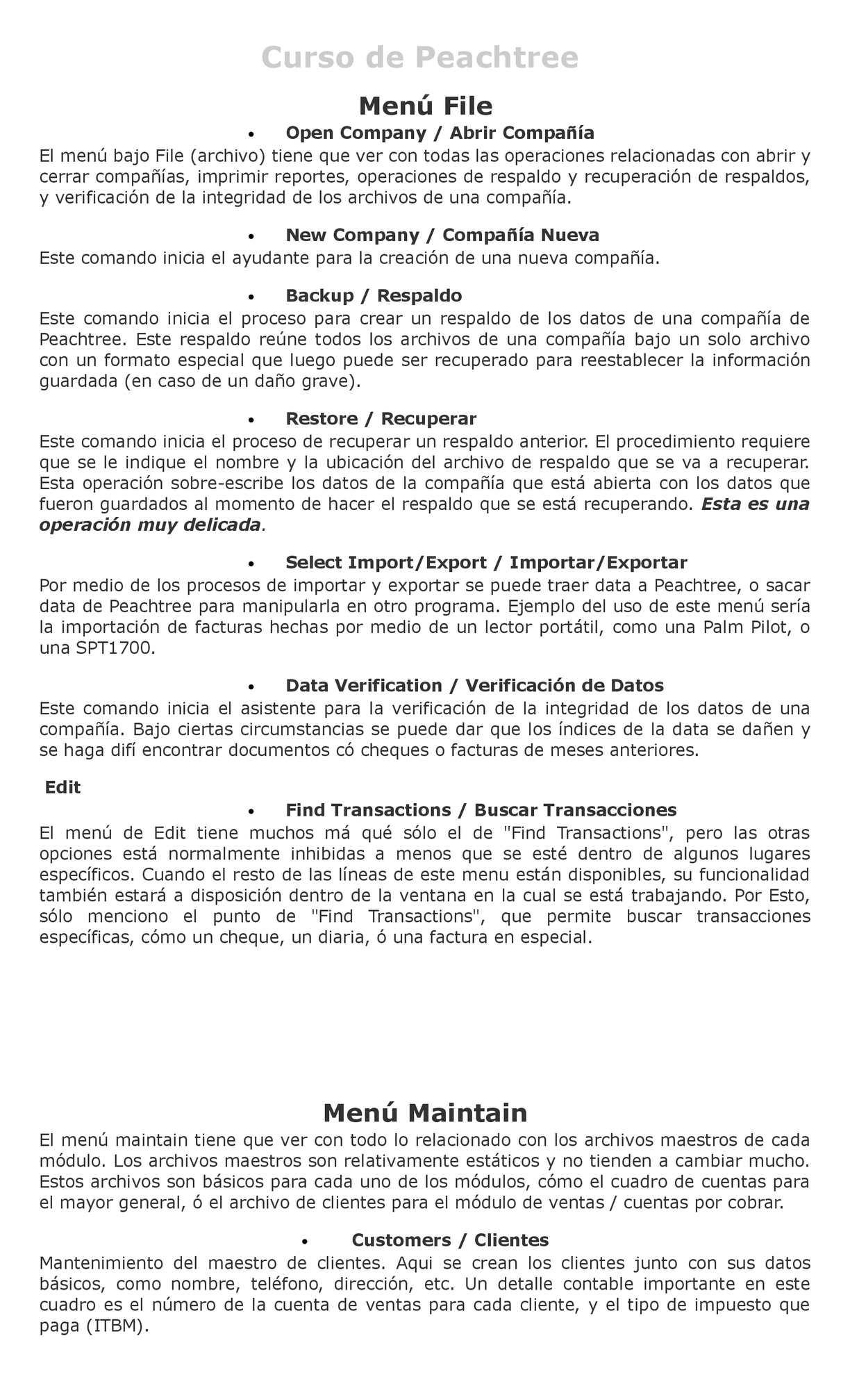 Calaméo - MANUAL DE PEACHTREE (LABORATORIO DE SOFTWARE CONTABLE)