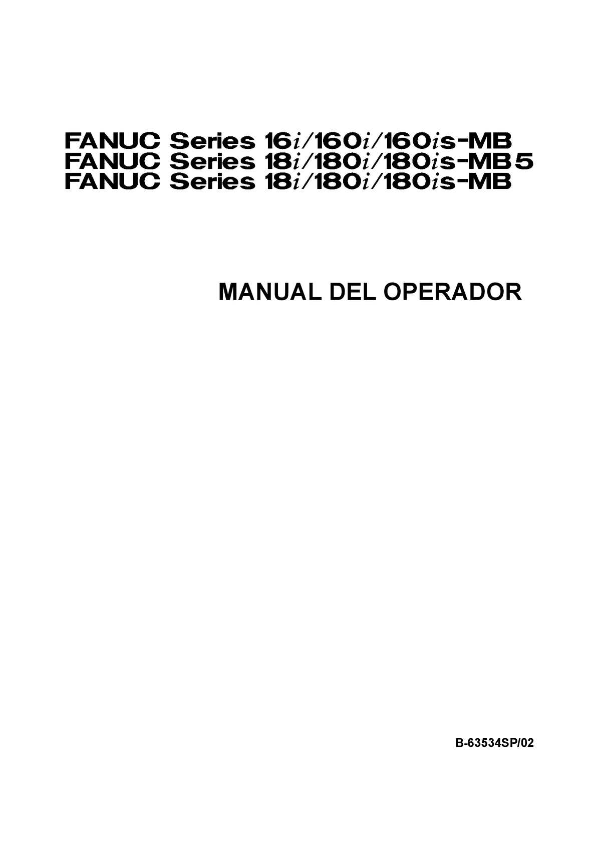 MANUAL DEL OPERADOR PANEL FANUC
