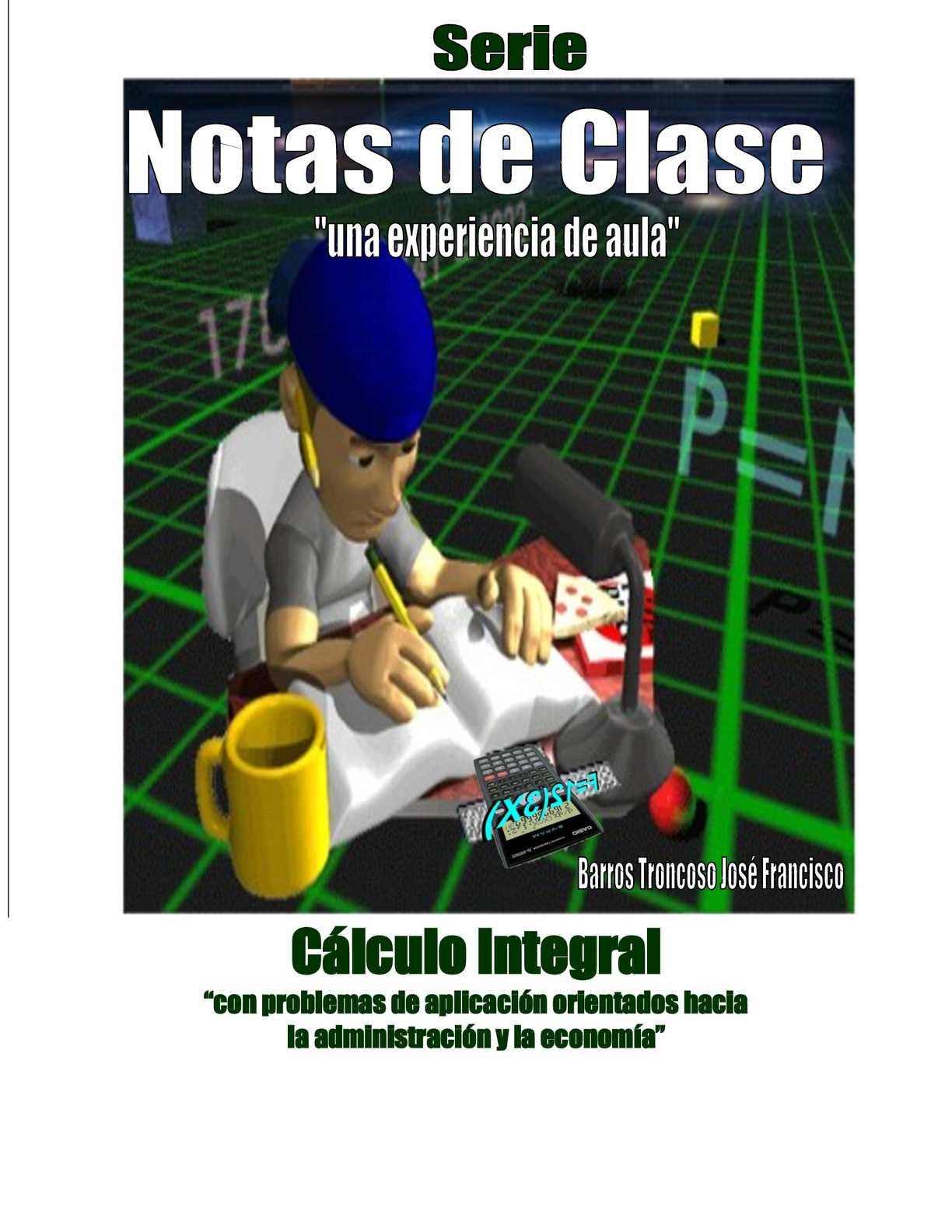 Manual de Cálculo Integral