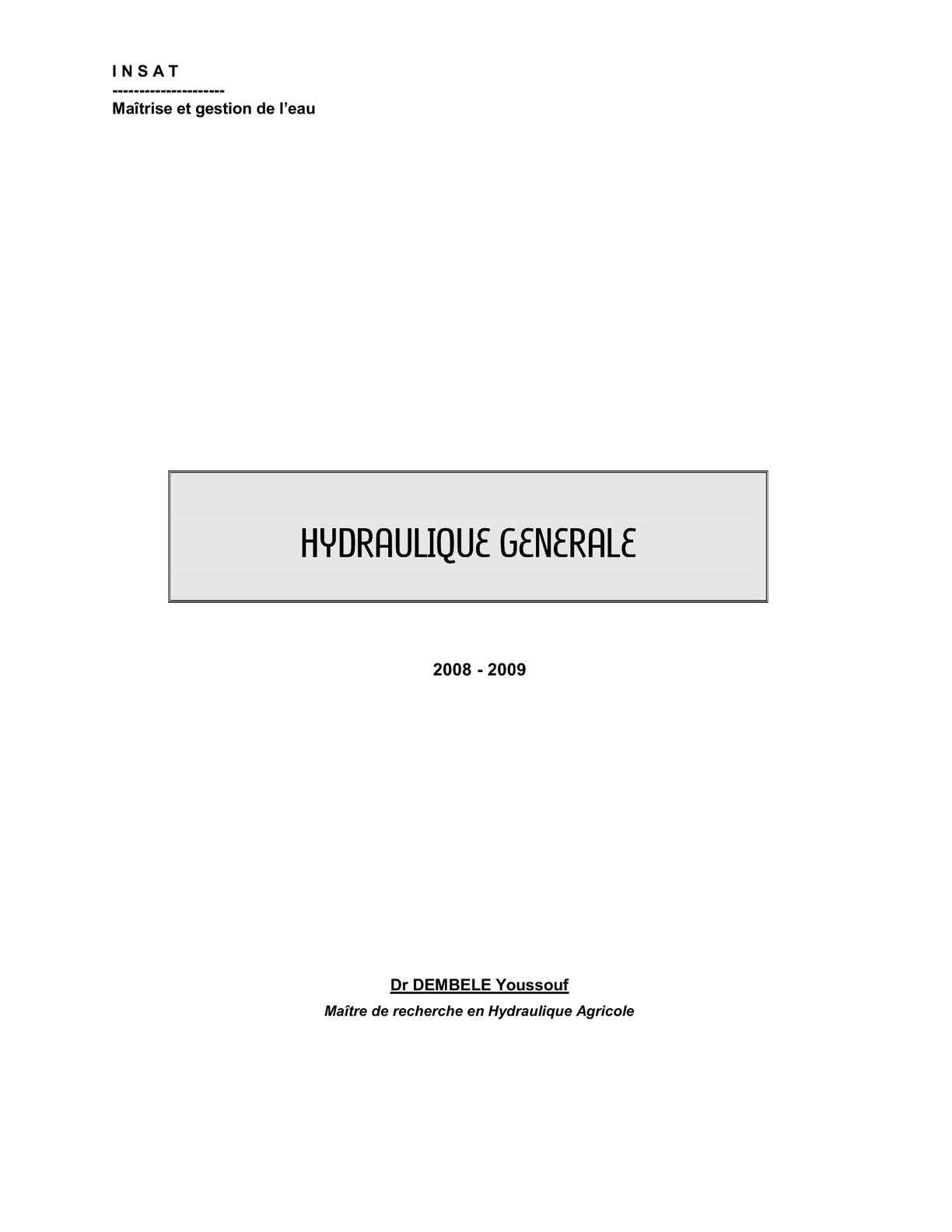 24539188-HYDRAULIQUE-GENERALE