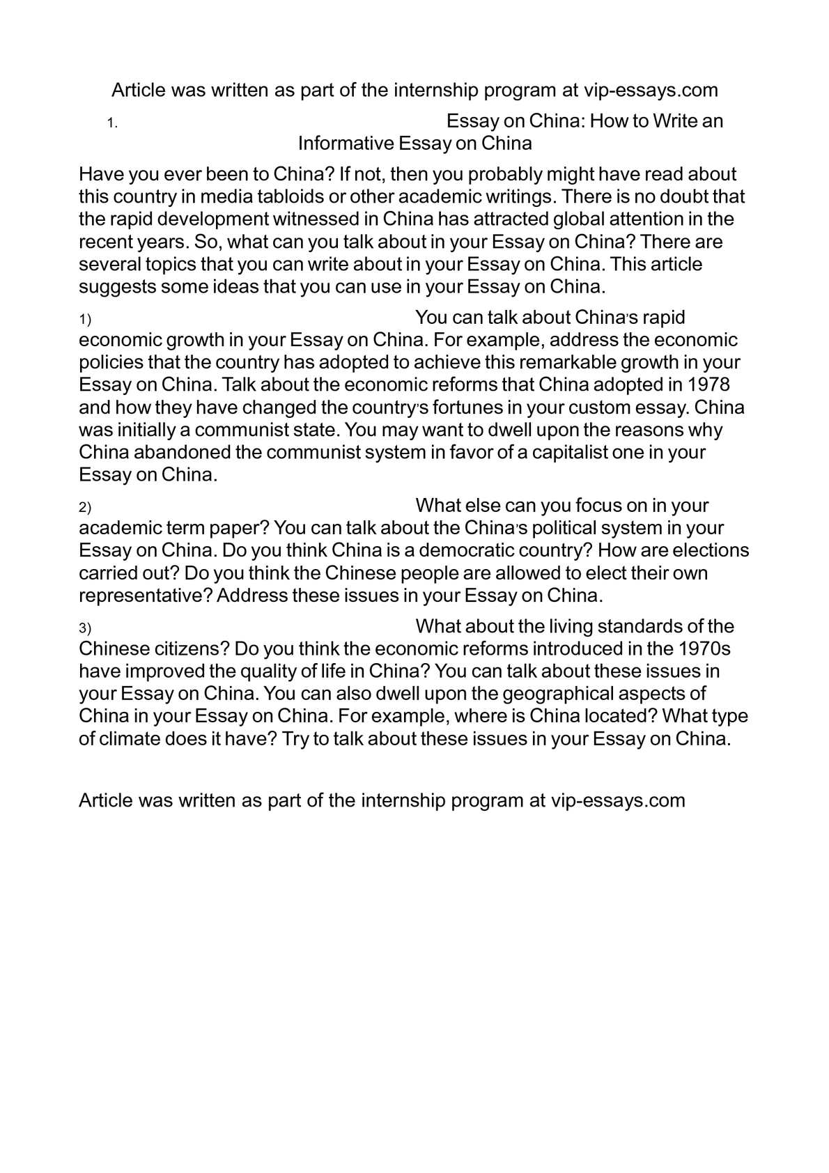 china essays [tags: china] better essays 1288 words | (37 pages) | preview the economic rise of china - the economic rise of china during the past few years has had the greatest influence on my.