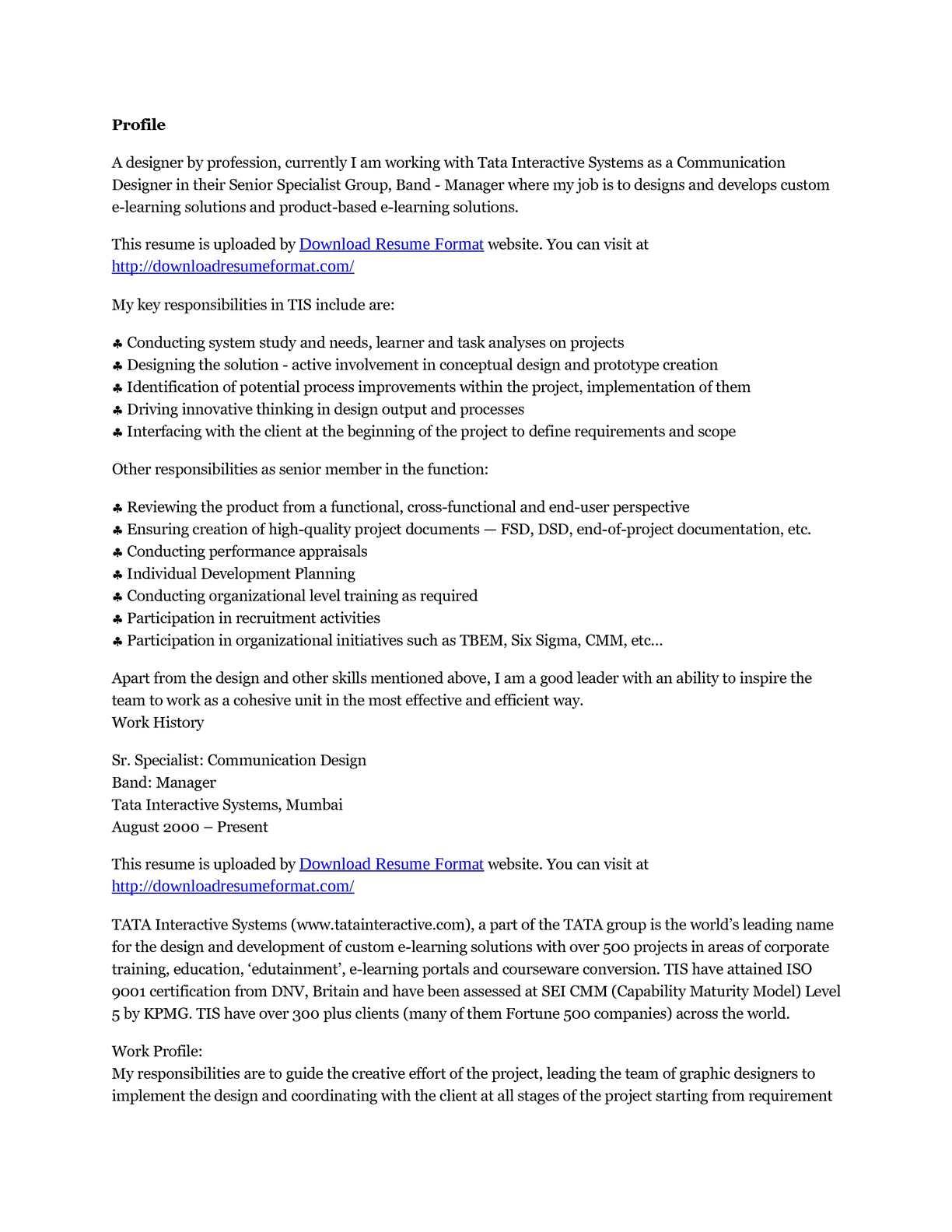 Calaméo - Download Resume Format