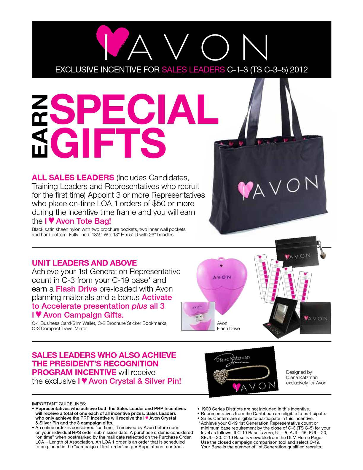 Calaméo - I <3 Avon Incentive Flyer for Sales Leaders that are ...