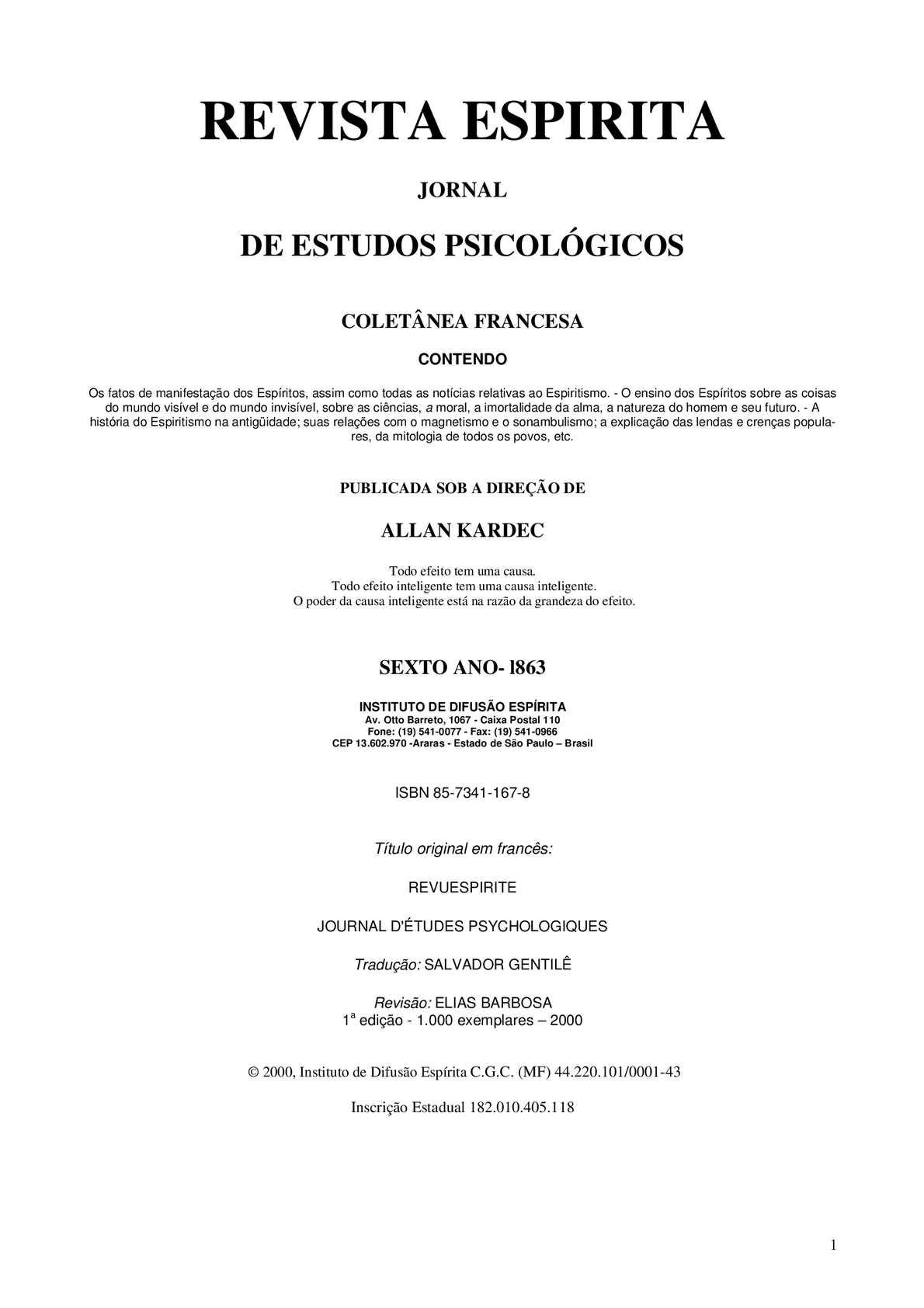 Calaméo - REVISTA ESPIRITA - 1863 57906bcc92
