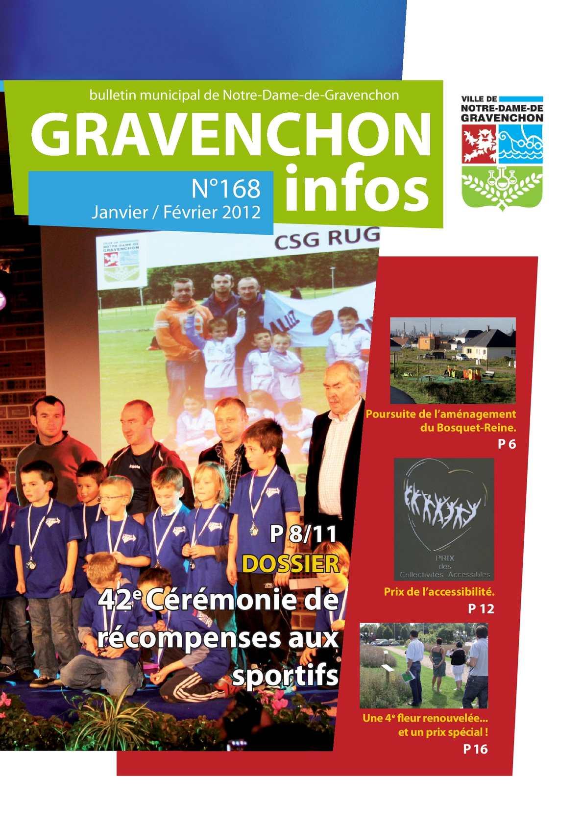 Calam o gravenchon infos 168 janvier f vrier 2012 - Notre dame de gravenchon piscine ...