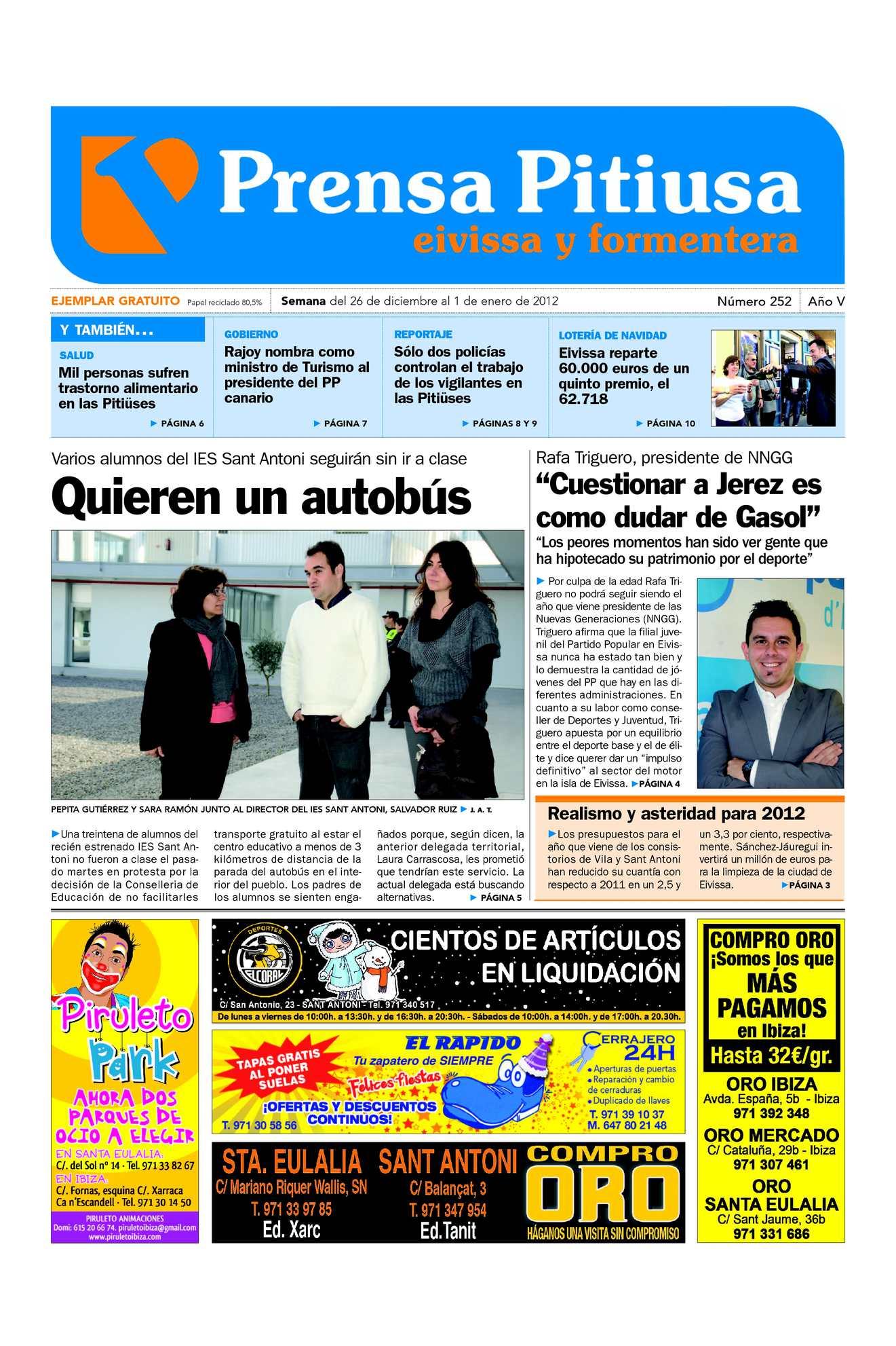 Calaméo - Prensa Pitiusa edición 252